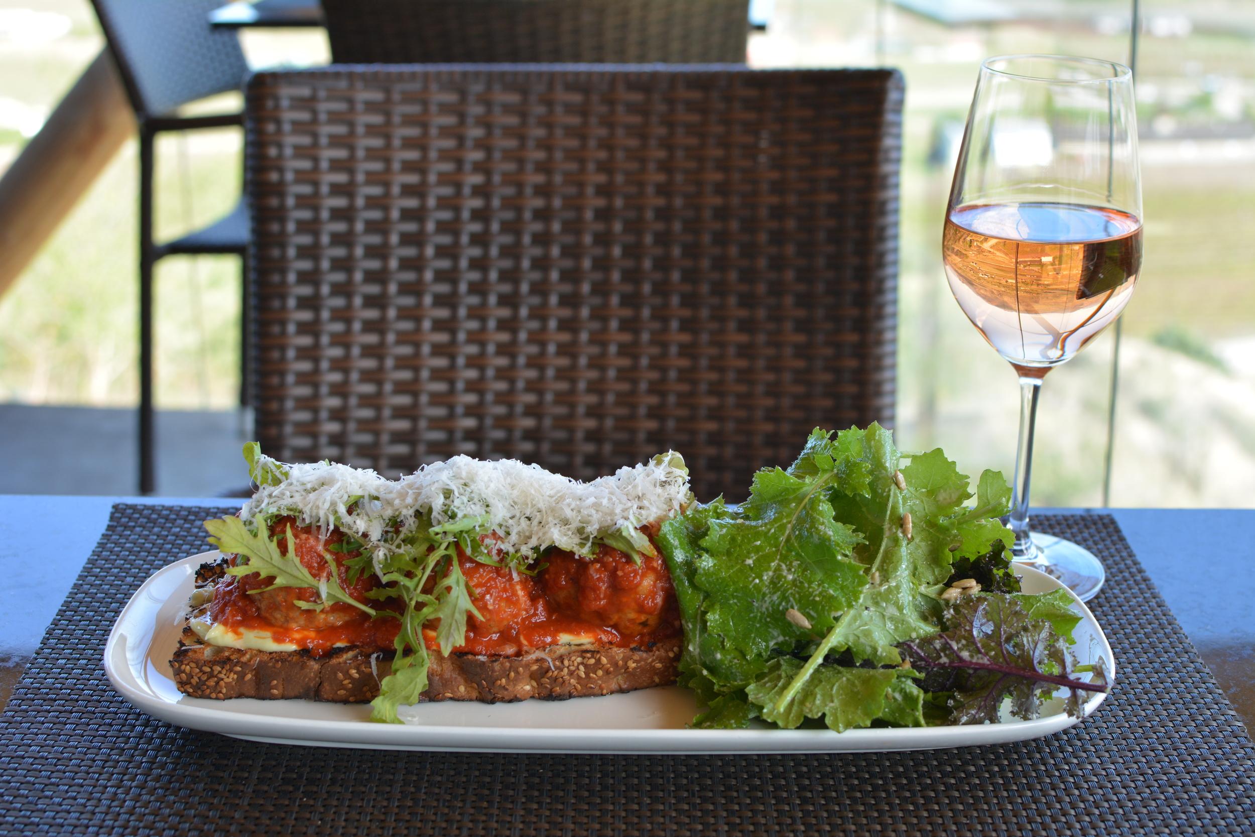 Miradoro Restaurant at Tinhorn Creek Vineyards in Oliver.