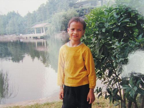 Gary    入住陽光兒童村時的模樣