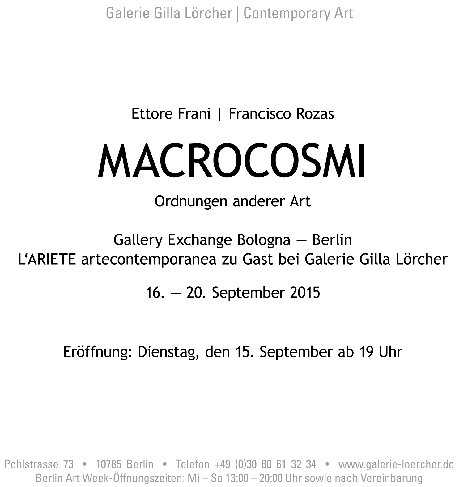 Invitation MACROCOSMI FranciscoRozas EttoreFrani at GalerieGillaLoercher 15092015-2.jpg