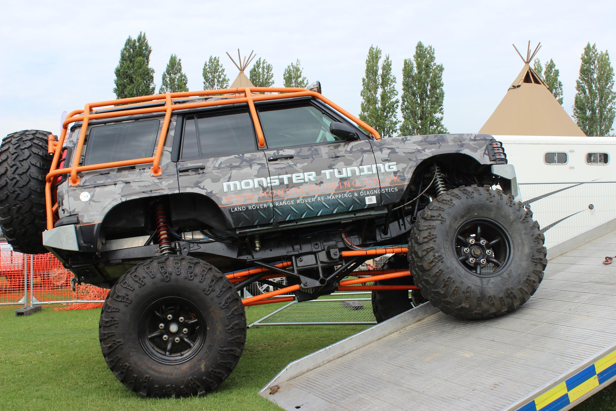 Billing Land Rover Fest 2015