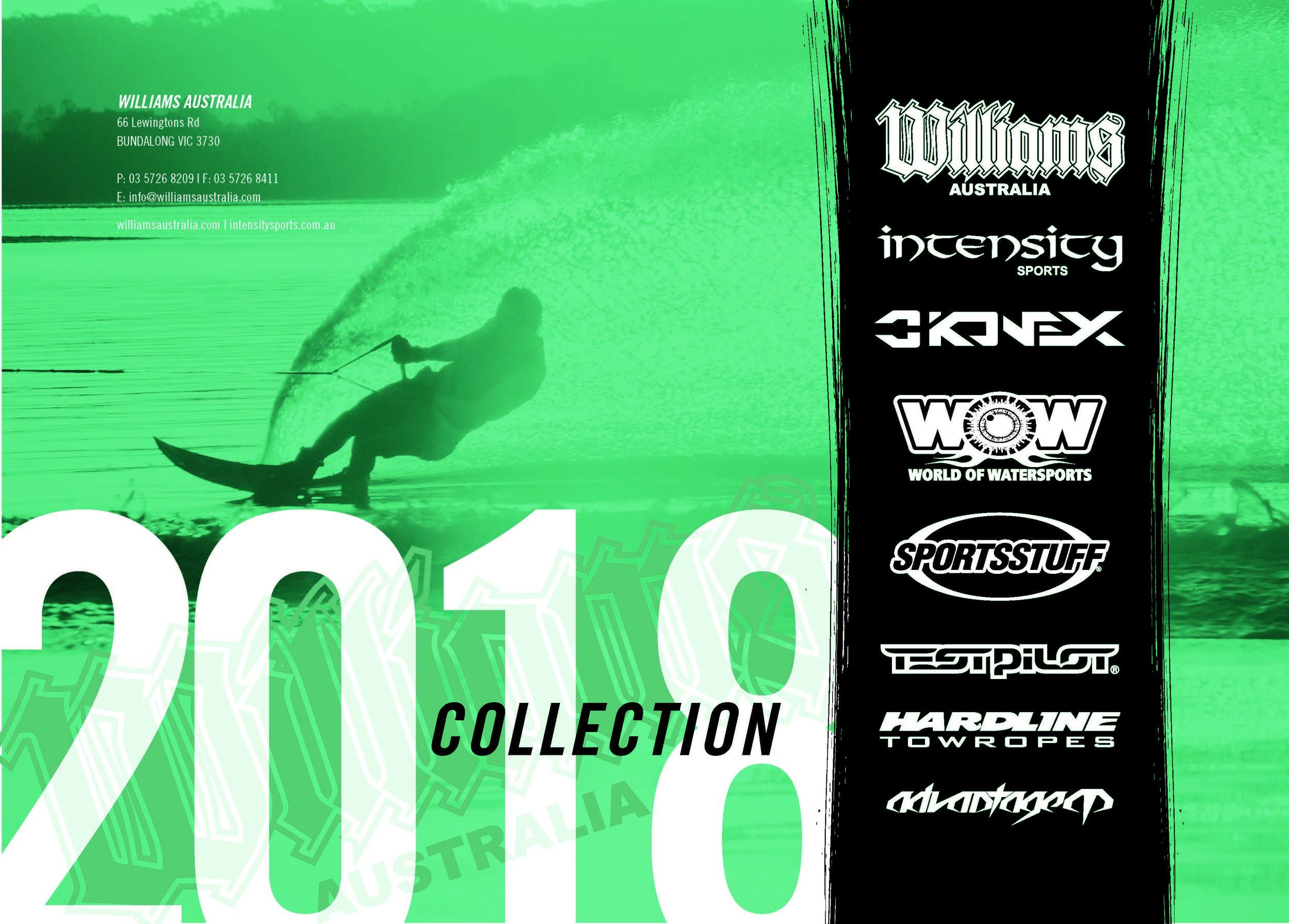 Williams Australia Wetsuits Skis Kneeboards Tubes Wakeboard Barefoot
