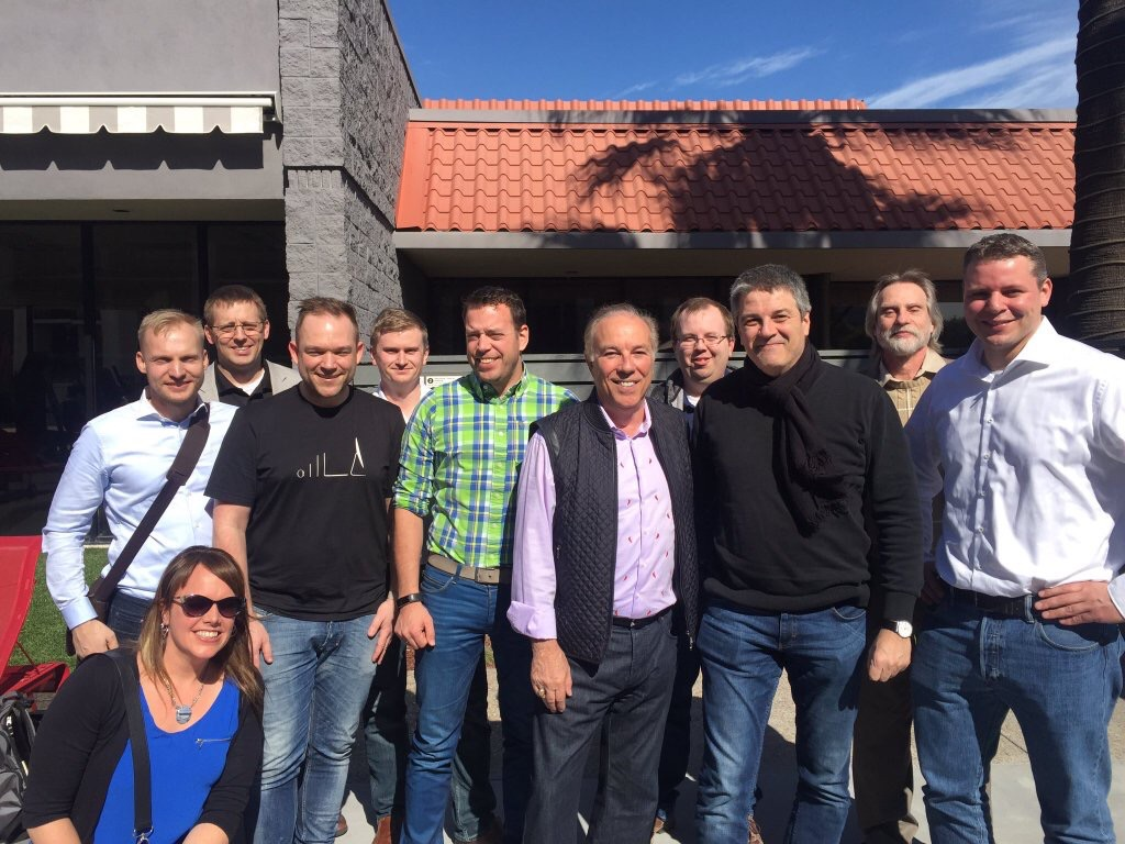 nVidia influencers meet ex Citrix CEO Mark Templeton