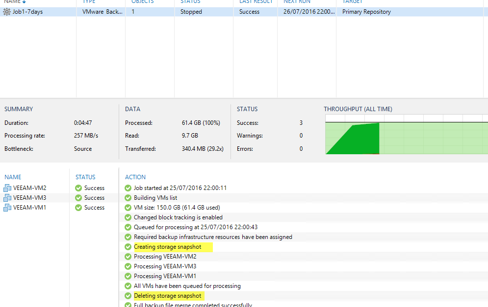 Veeam 9 5: A sneak peek at Nimble Storage Intergration