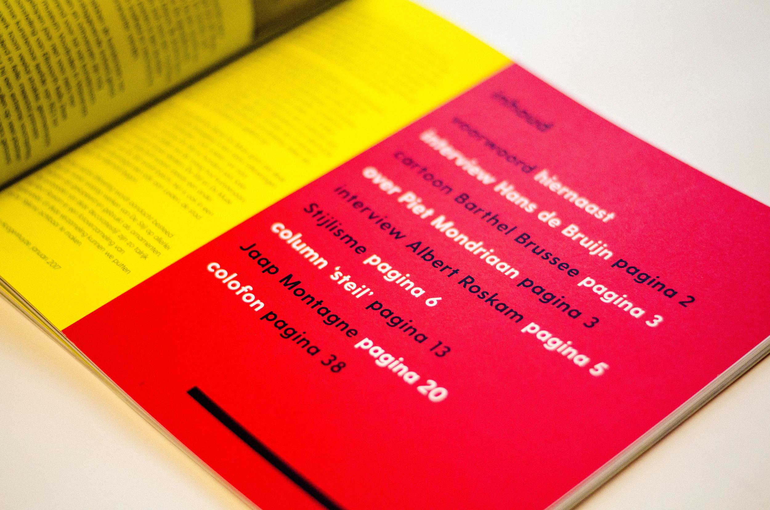 tijdschrift100 jaarDe Stijl - #tijdschriftontwerp