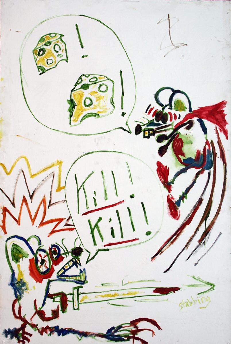 CHEESE! CHEESE! KILL! KILL!