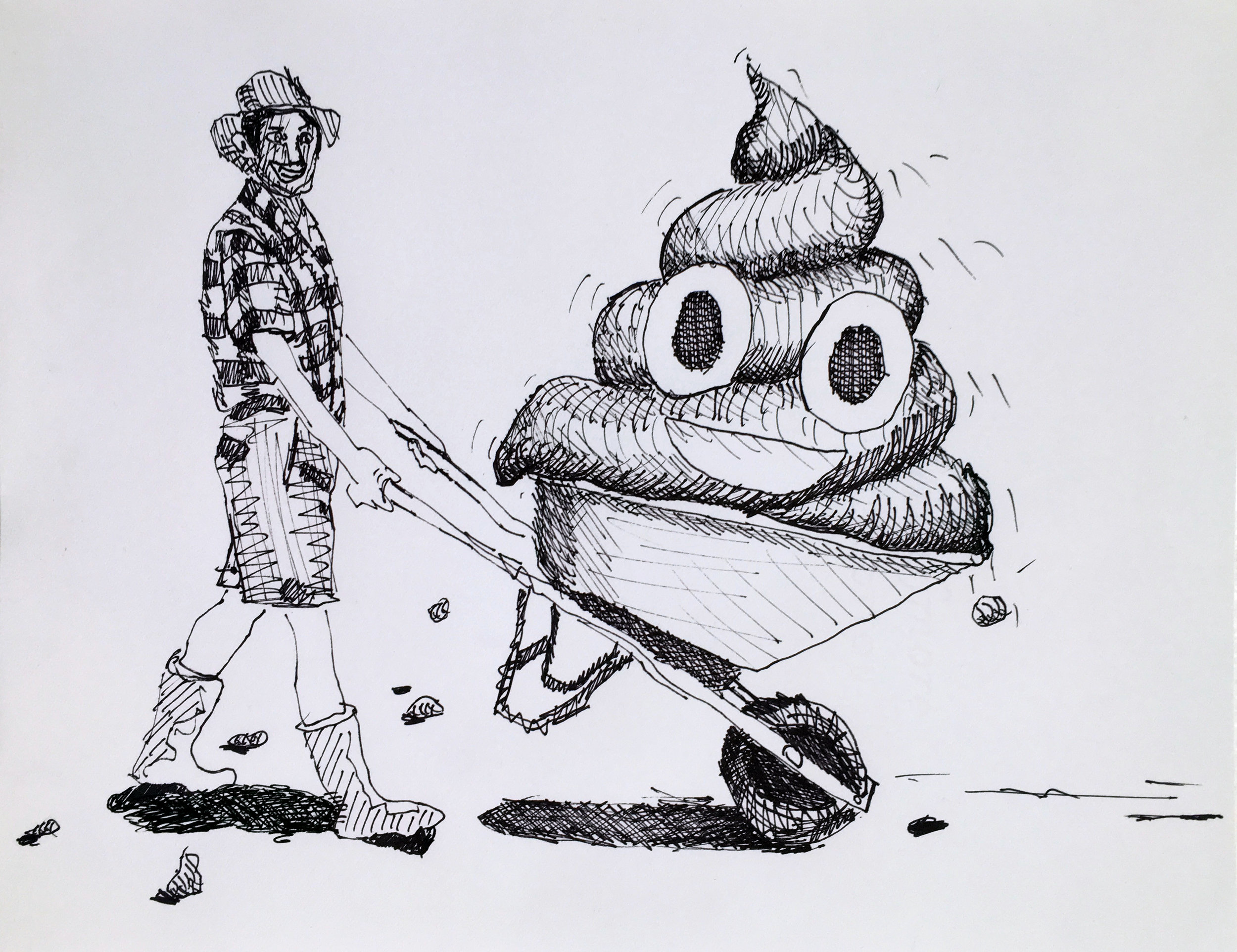An Untitled Drawing About Art Theory