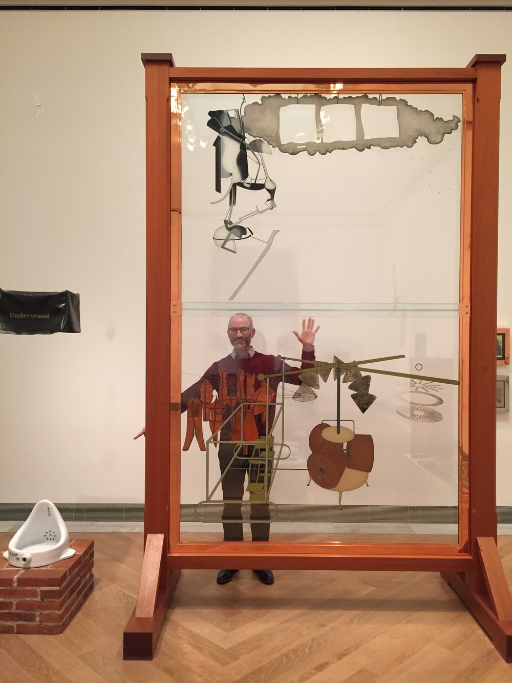 Duchamp's The Large Glass at Moderna Museet