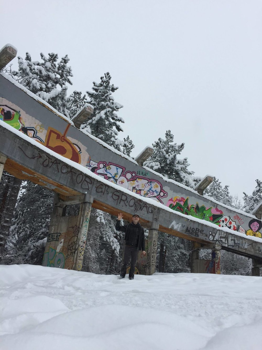 Bobsled Run from the 1984 Winter Olympics