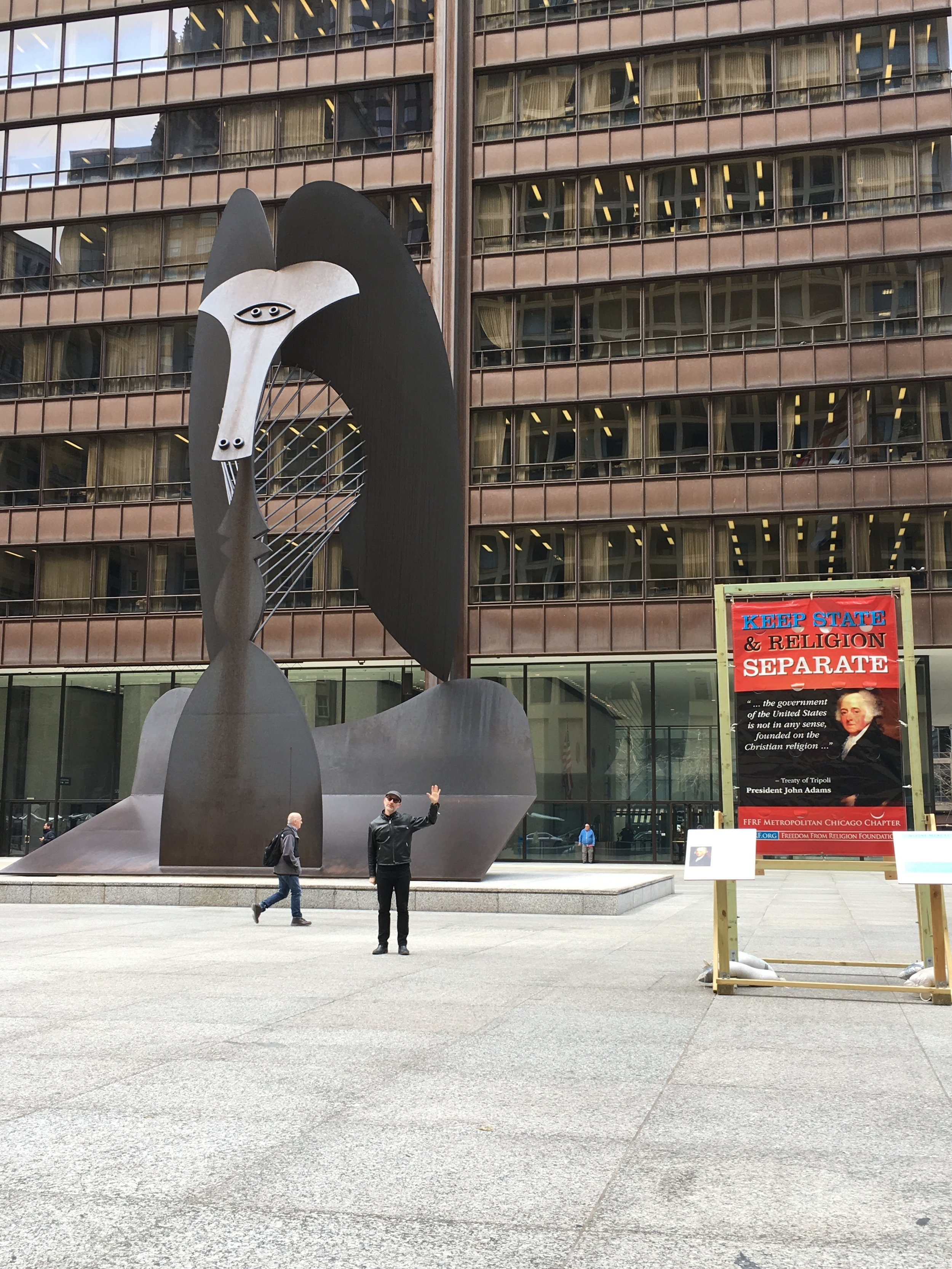 Picasso at Daley Plaza