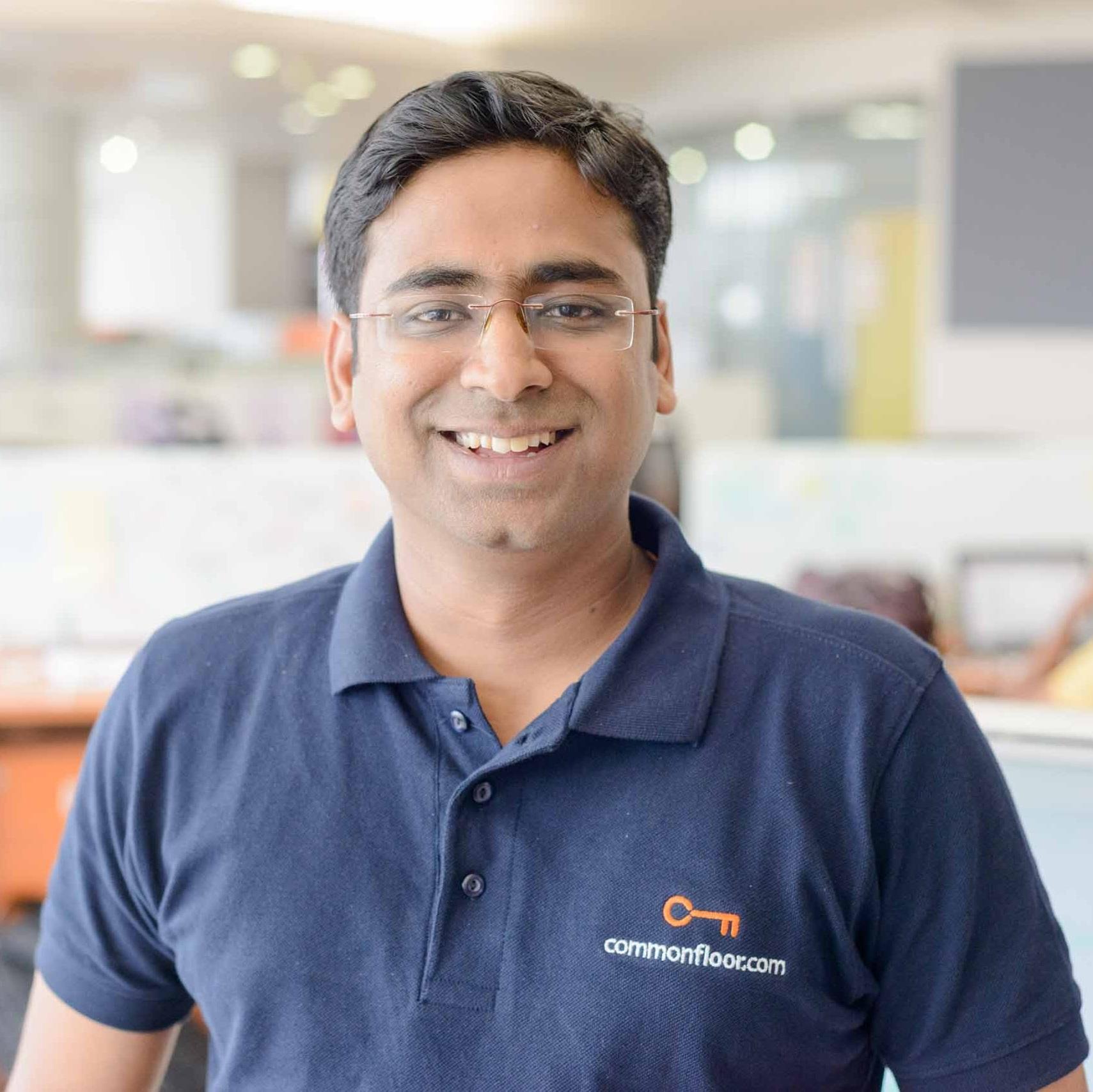 Sumit Jain   Co-Founder, CommonFloor.com