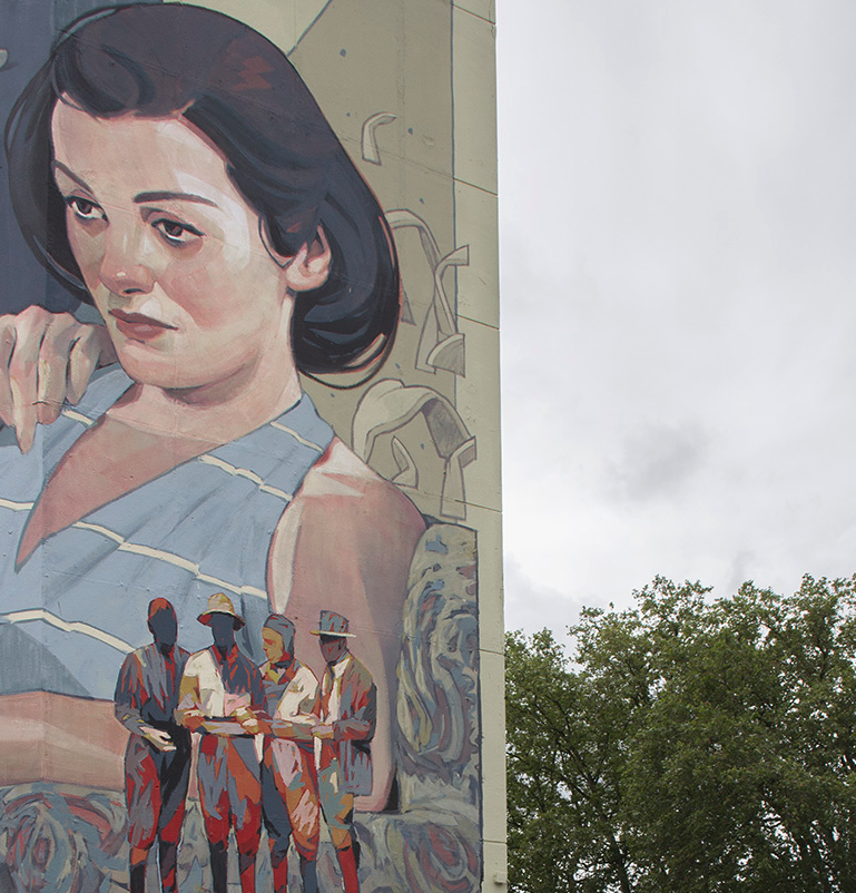 The london mural company x aryz