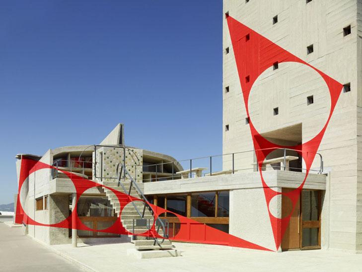 Felice Varini x The London mural Company