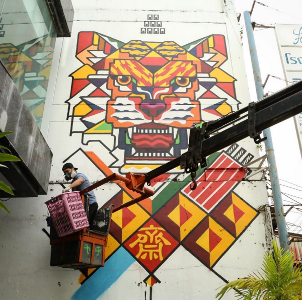 rukkit x the london mural company