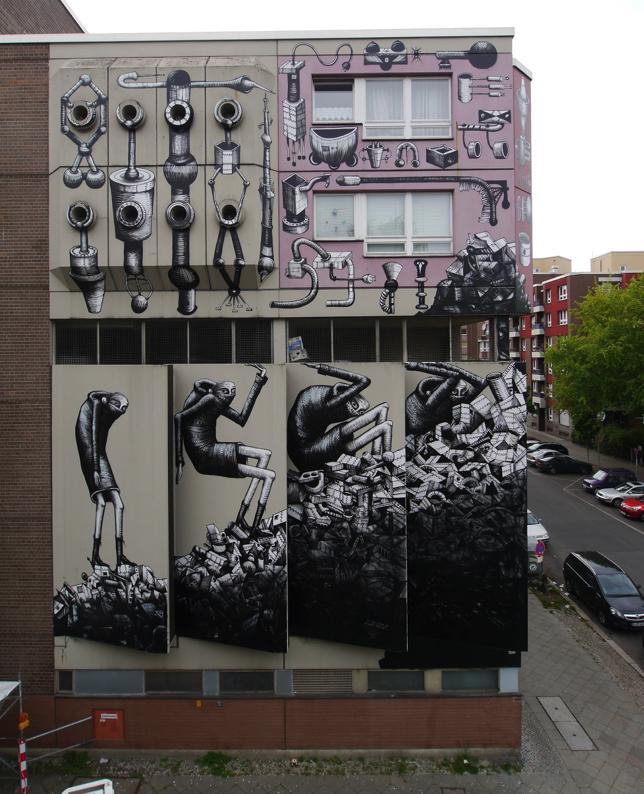 Phlegm x The London Mural Company