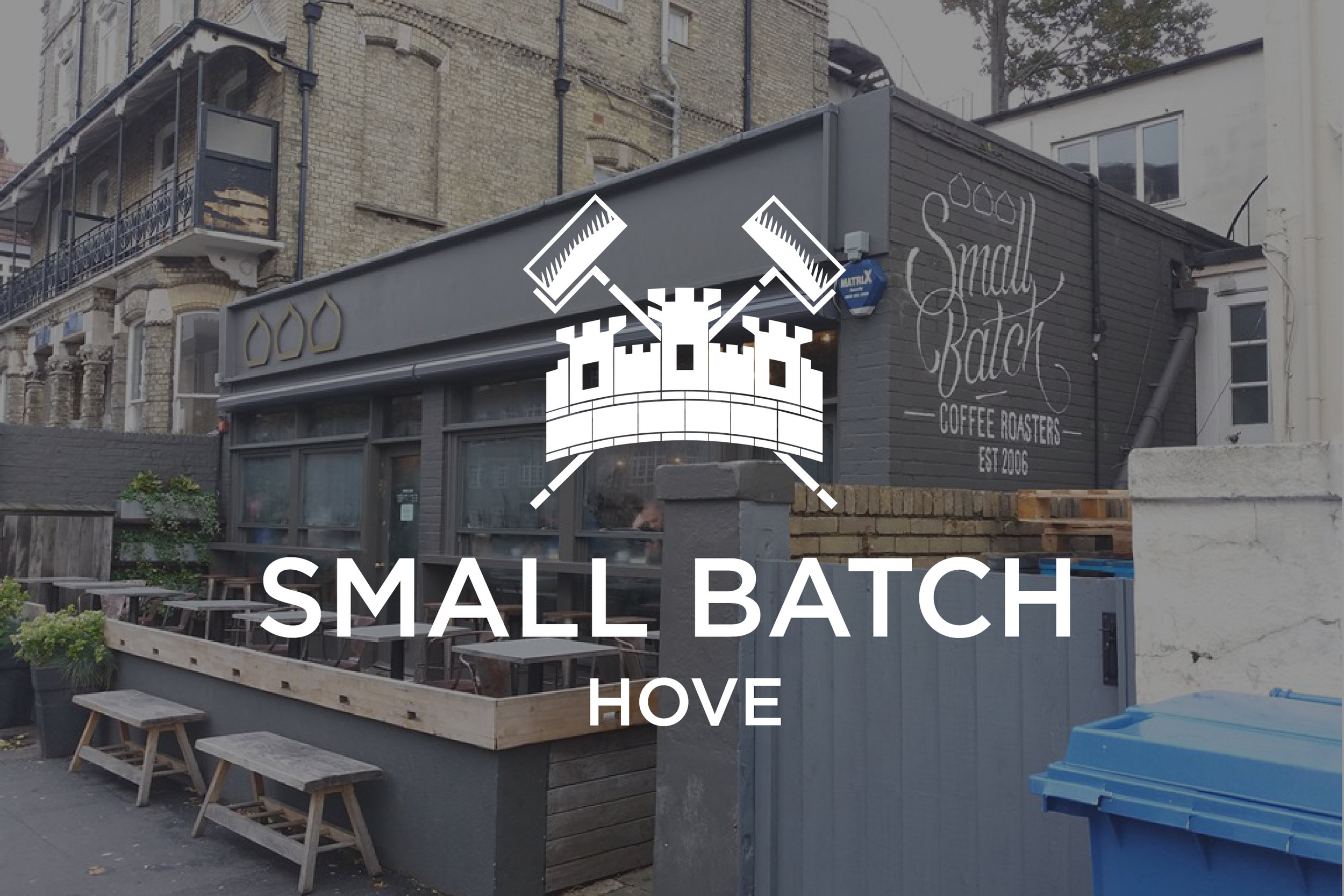 Small Batch Coffee x The london Mural Company