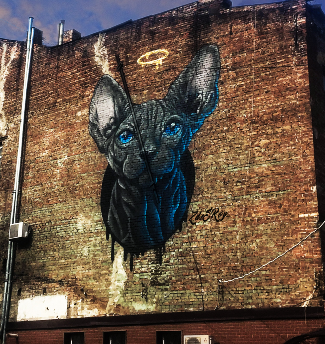 ZDESROY x The London Mural Company