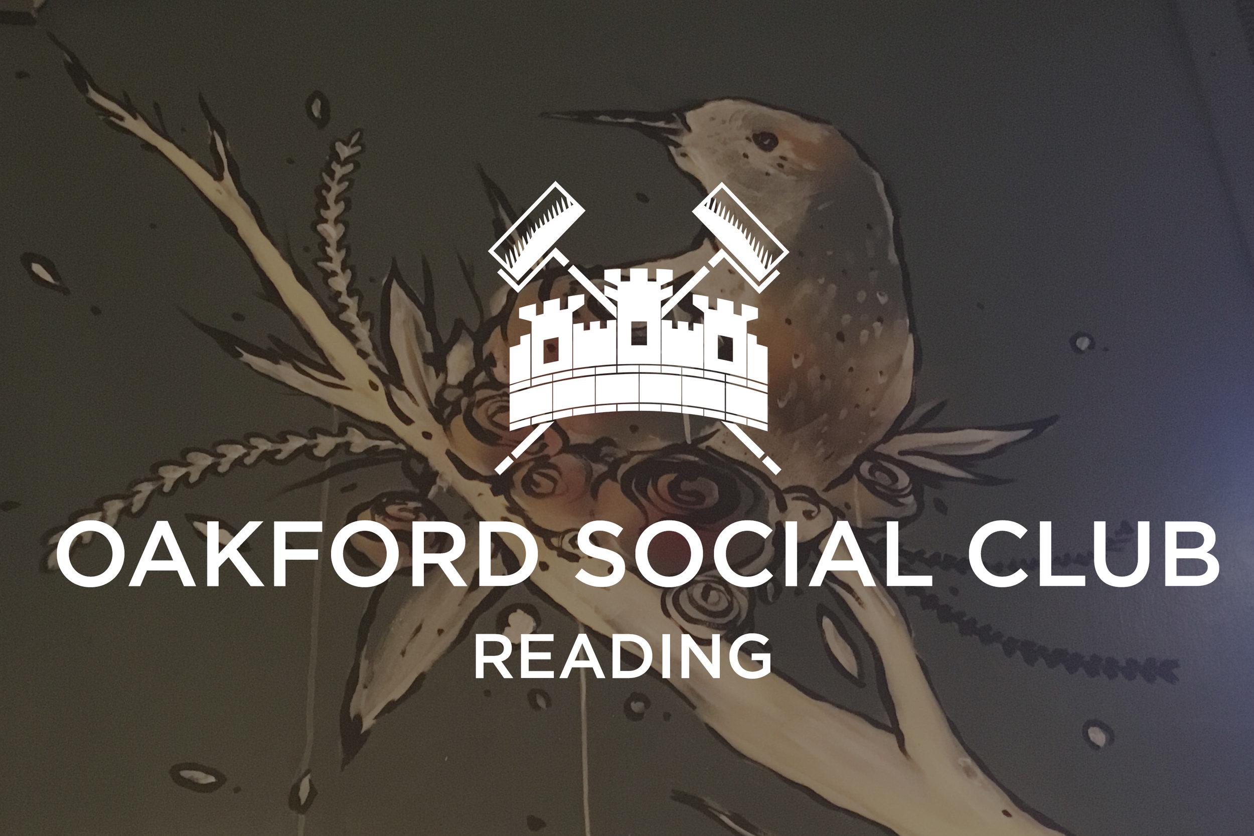 Oakford Social Club x The London Mural Company