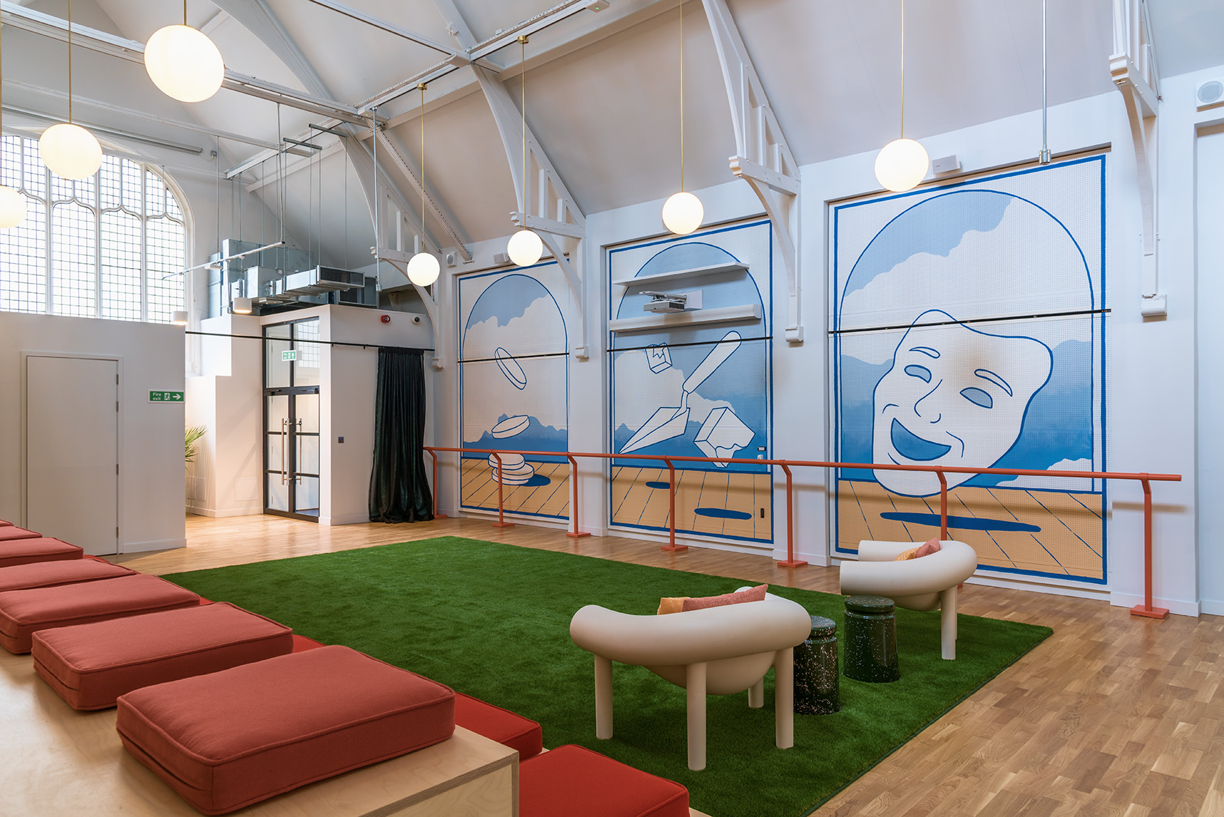 the london mural company x wework 1