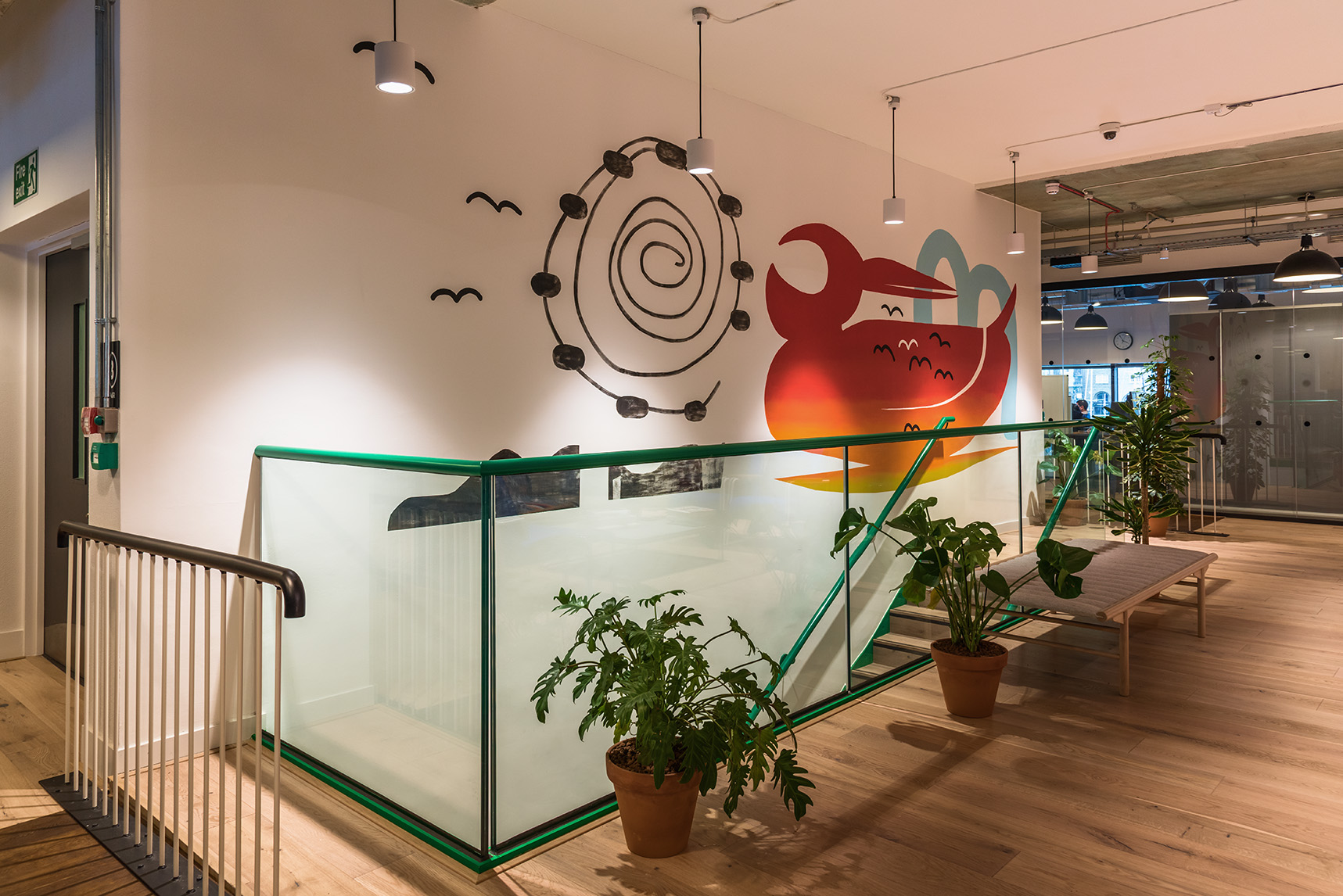 The London mural company x WeWork International House 2