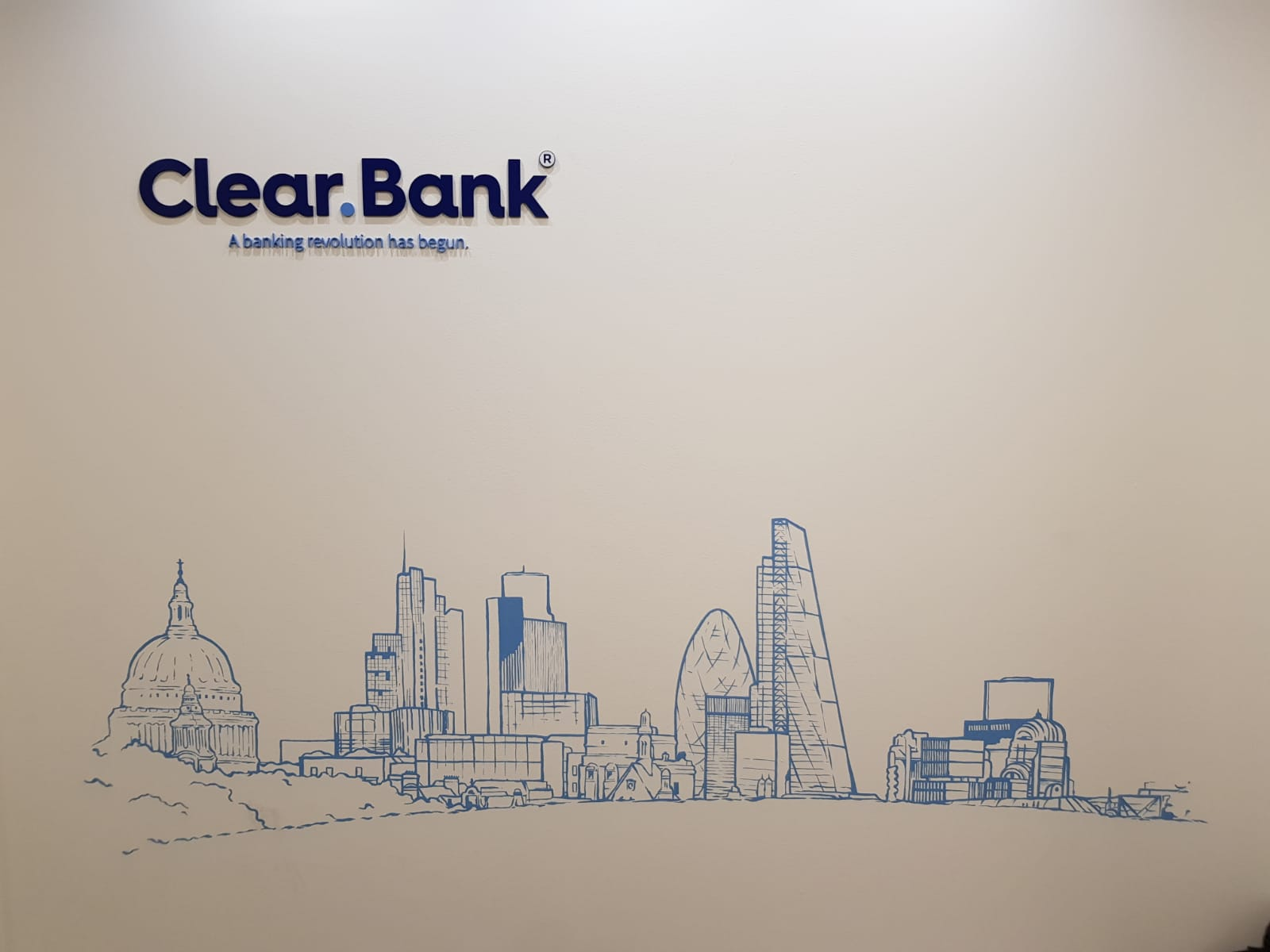 The London mural company x ClearBank 1