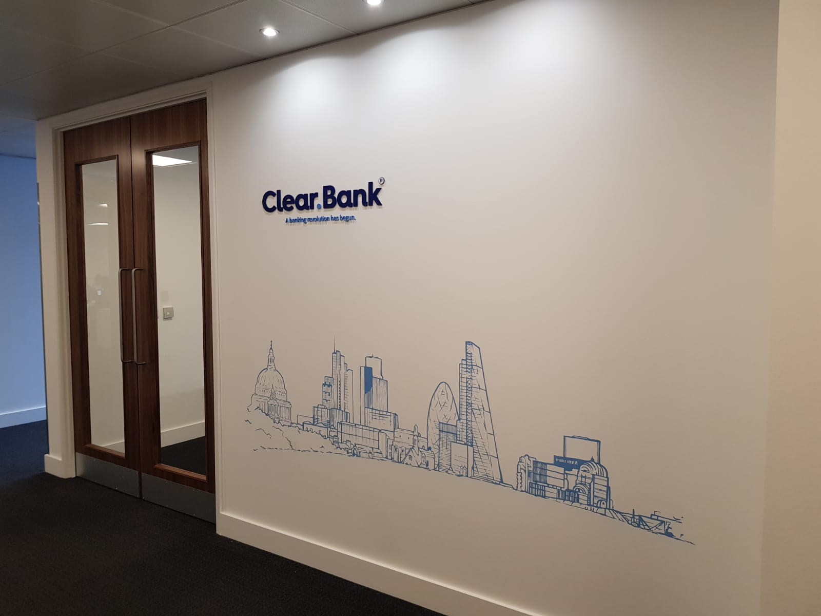 The London mural company x ClearBank 3