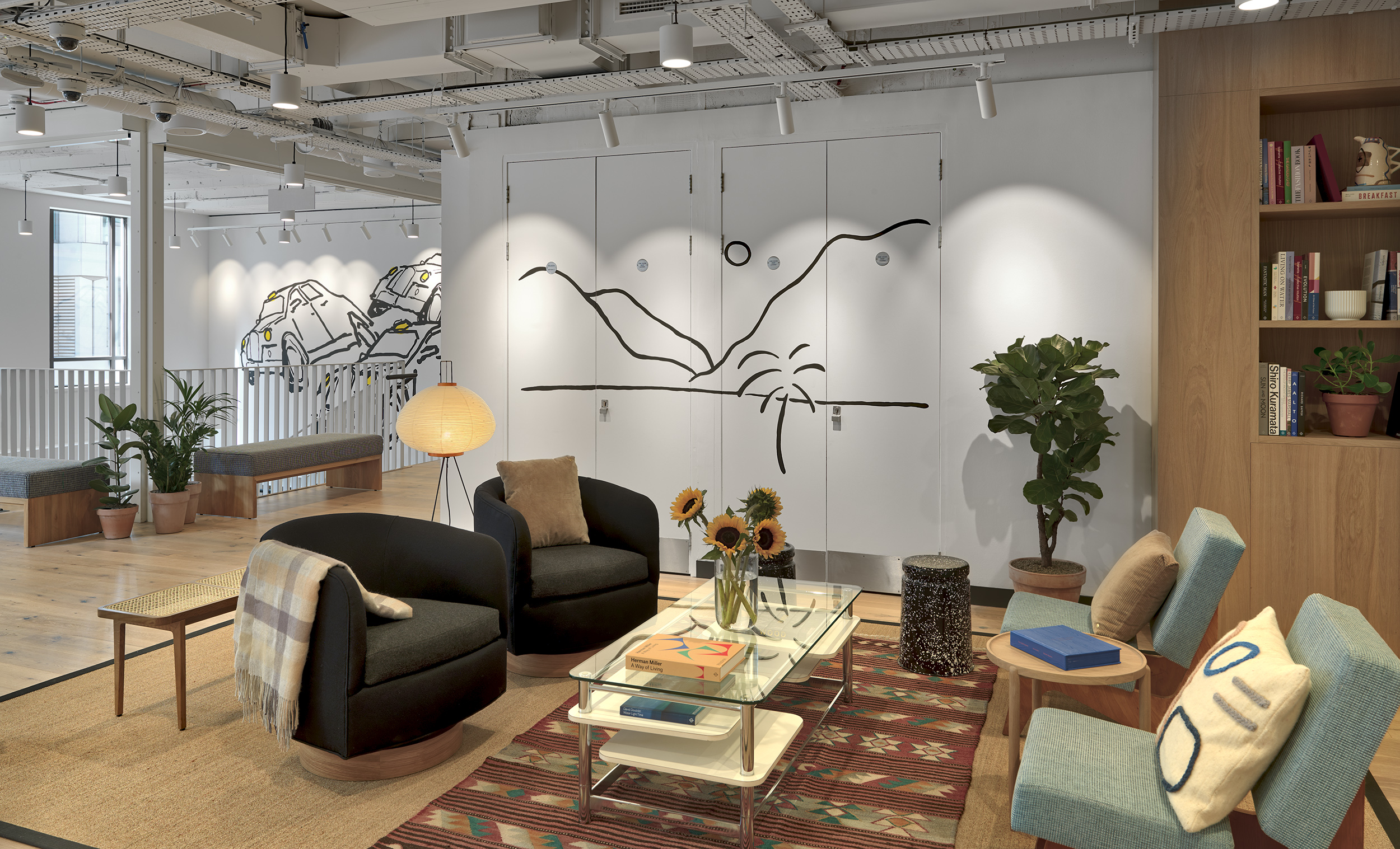 Wework Moorgate x The London Mural Company 2