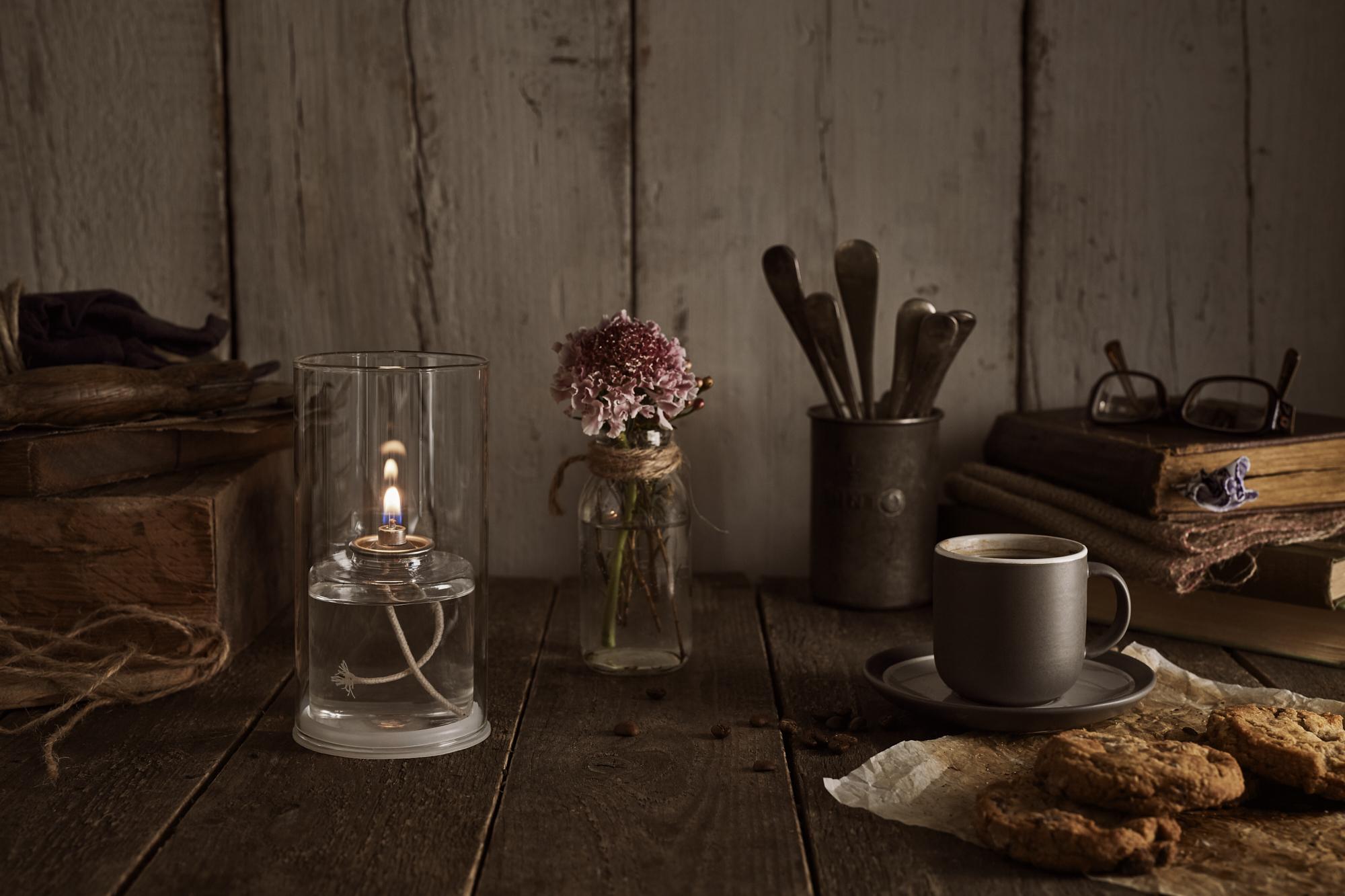 LighMe Clear Glass Lamp