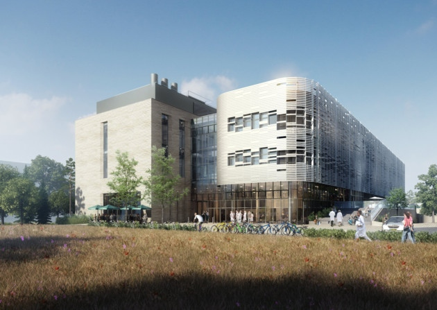 Artists rendering of The Quadram Institute - EDP Article (click on image)