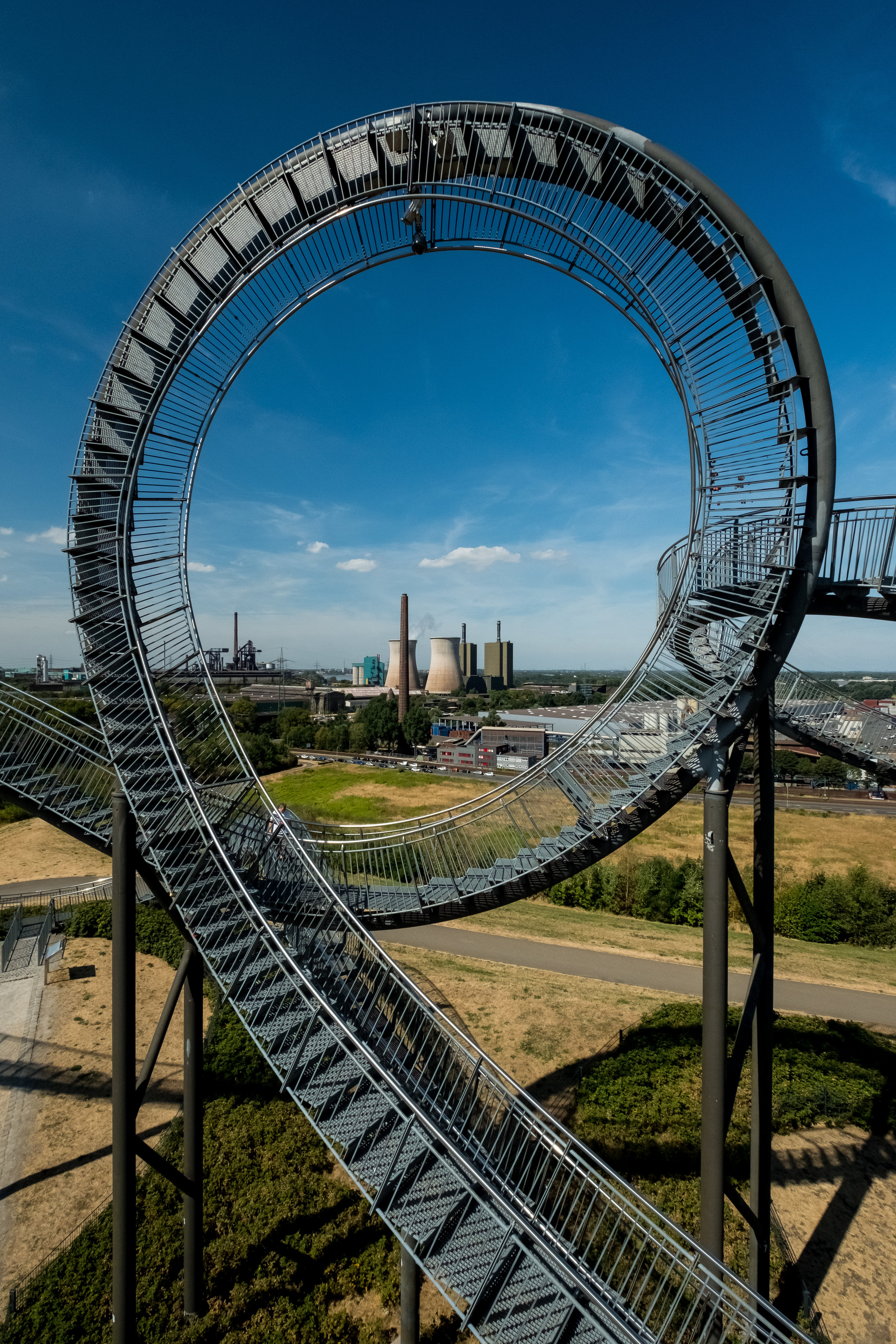 The surrounding industry fit in well, not only compositionally, but also as a reminder of why the Tiger & Turtle is here. This image is available as a print, just click on the image.