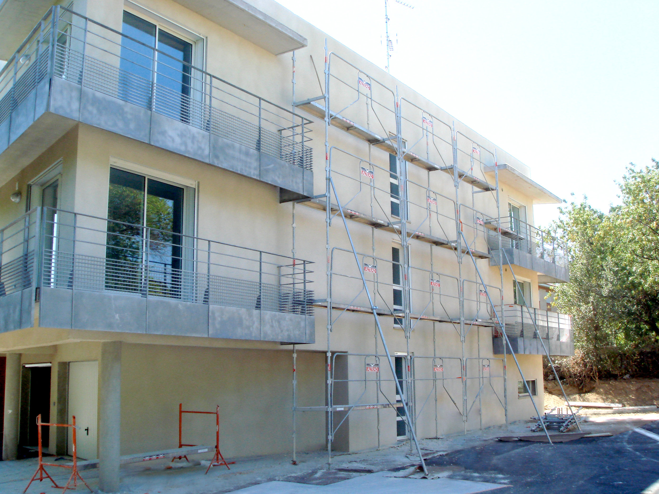 Construction Résidence universitaire Coeur Université