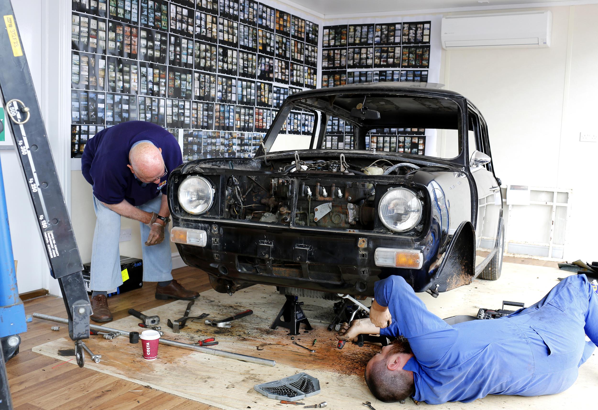 1975 GT Mini Restoration