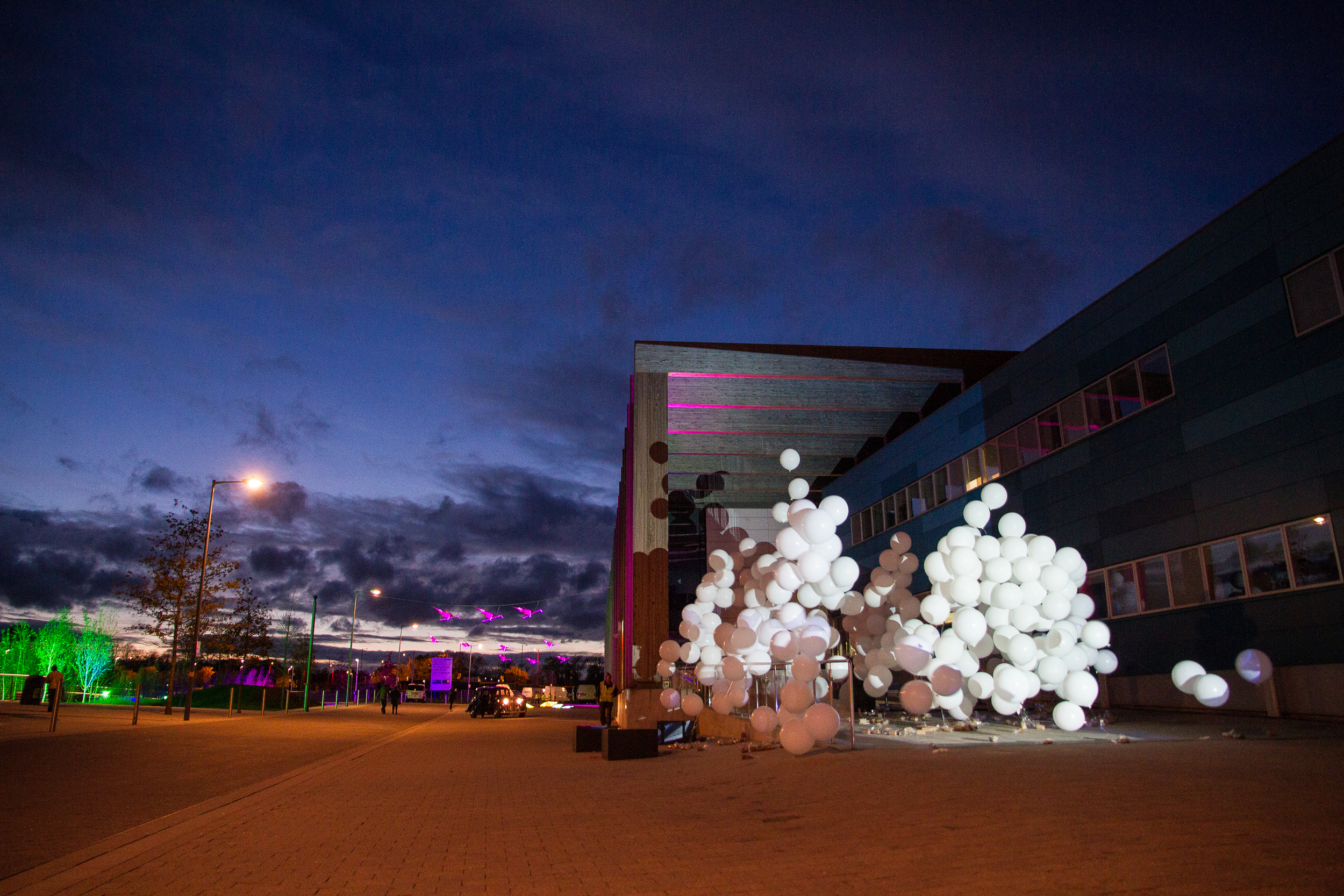 'H20' by Collectif Coin at LPAP launch event in 2013, photography by Pete Sloan