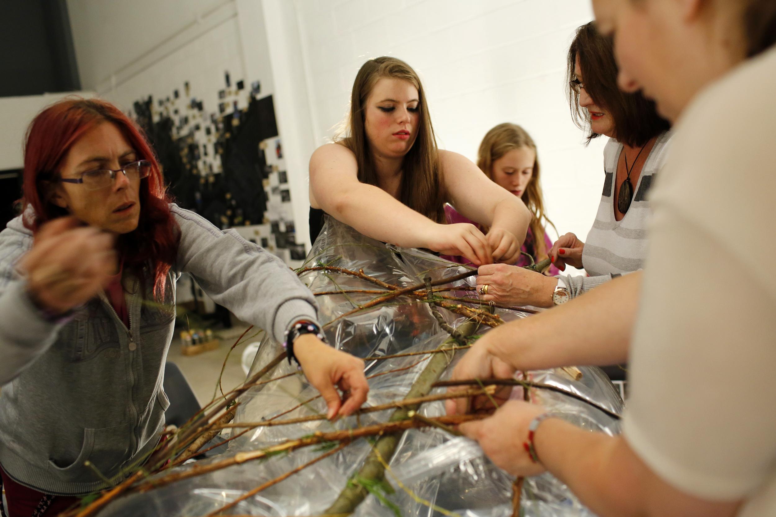 Anita Roye workshop with West Heath Youth Group