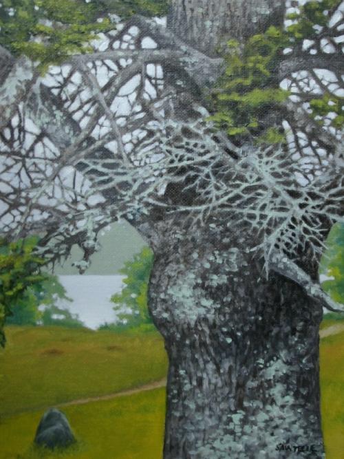 """Wyeth's Path"" 9""x12"" Oil on canvas"