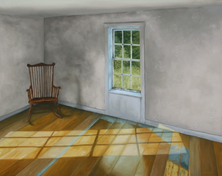 """""""September Afternoon, Olson House"""" 30""""x24"""" Oil on canvas"""
