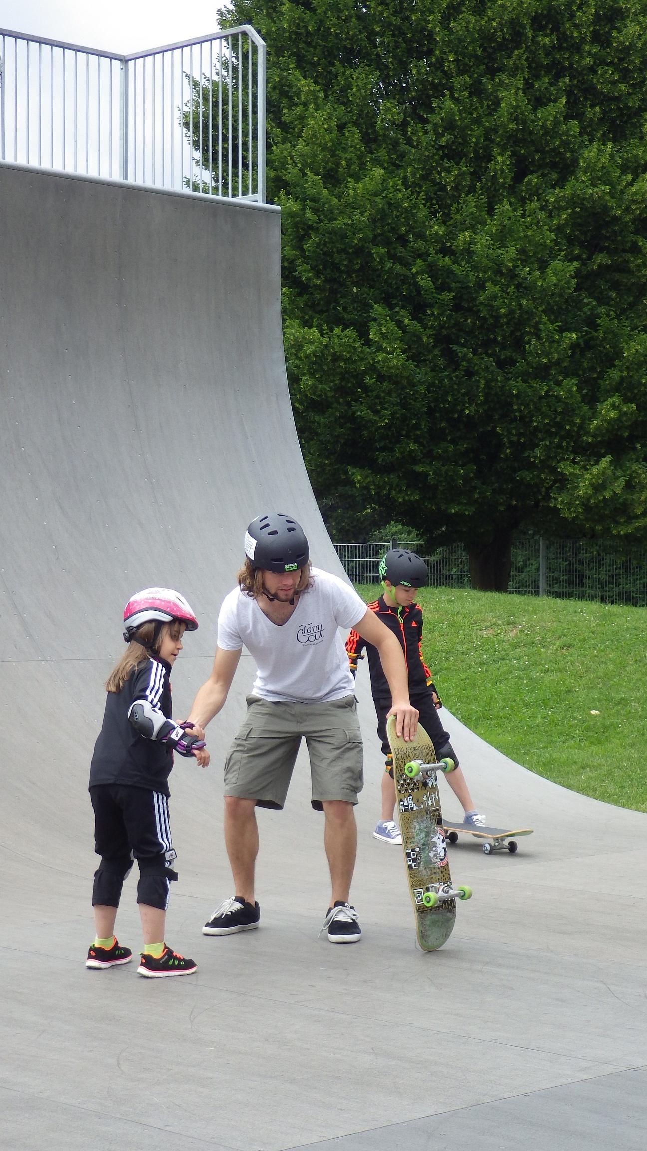 Skatekurs Pullach Skatepark München Skateworkshop TomCatSkate.com SKA.JPG