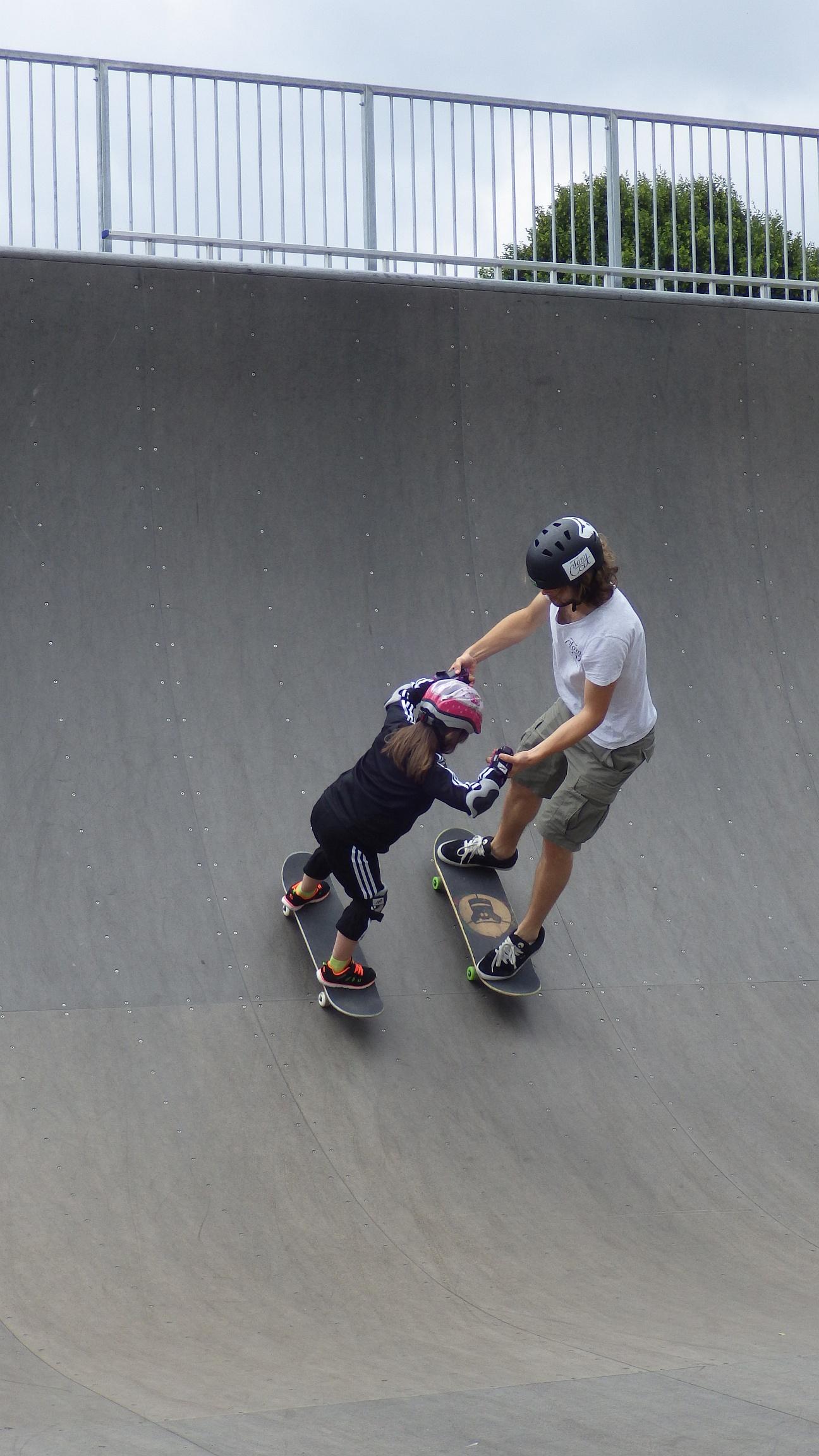 Skatekurs Pullach Skatepark München Skateworkshop TomCatSkate.com SKAT.JPG