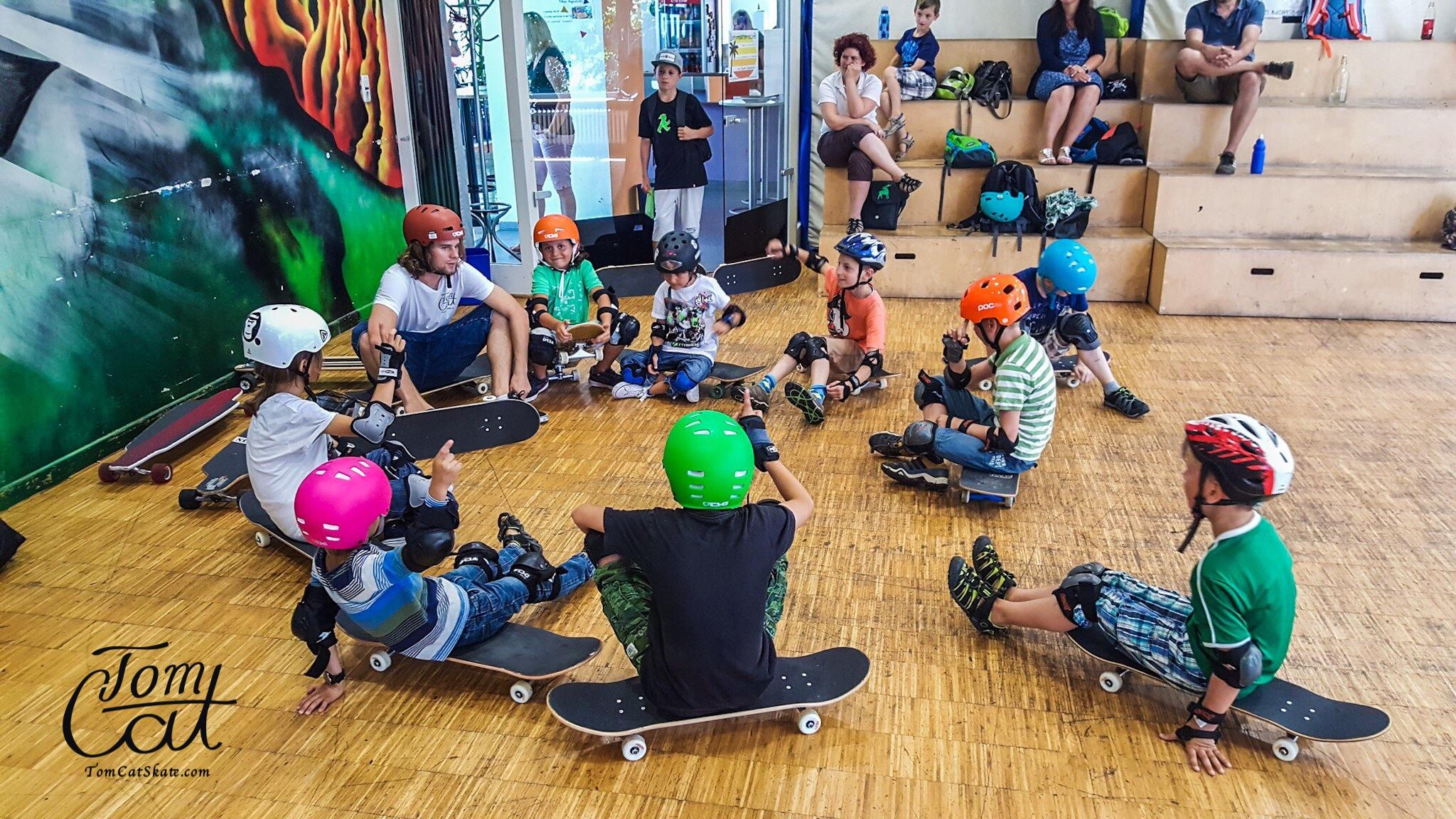 Skatekurs München Pullach mit Profi Skateboarder Tom Cat Kleinhans.JPG