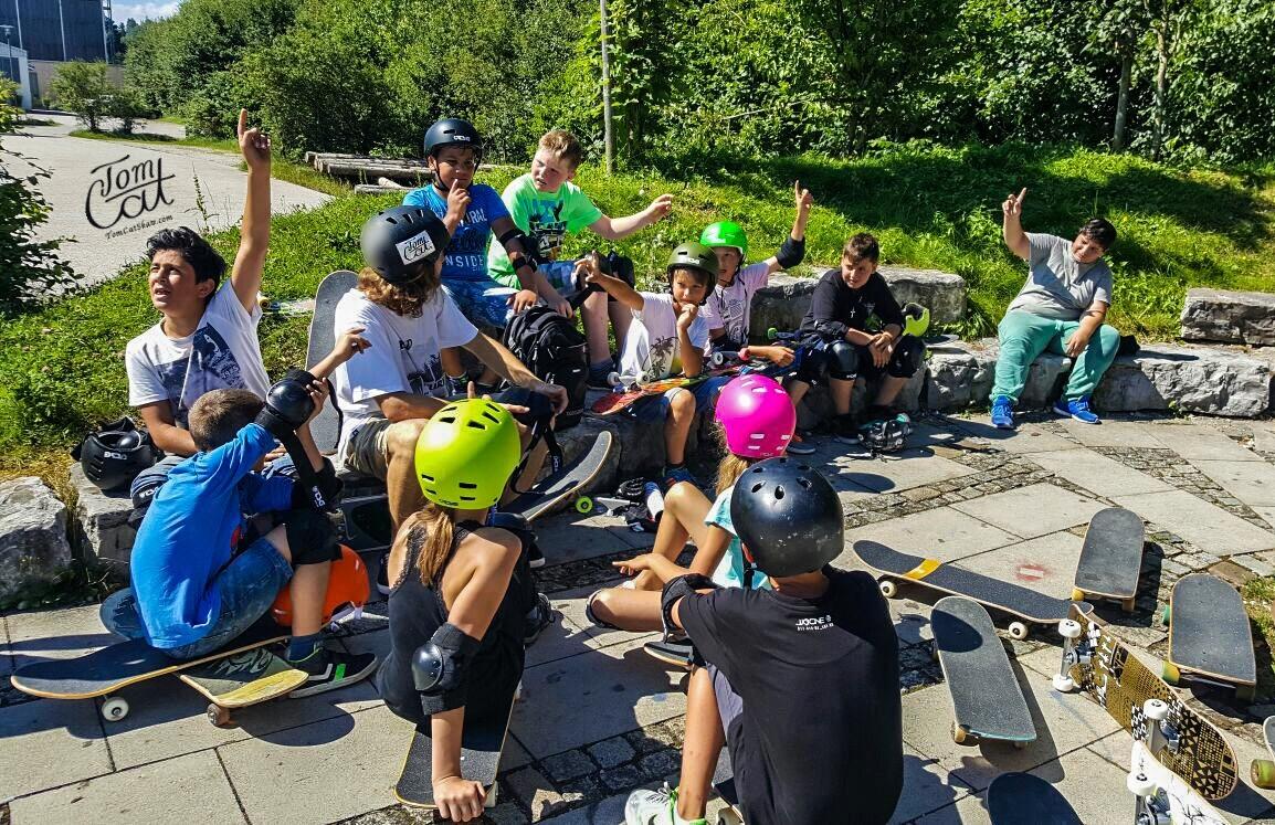 Skatekurs Bad Tölz Skaten Lernen mit Profi Tom Cat auch Longboardkurse im raum München, Bad Tölz, Lenggries  .JPG