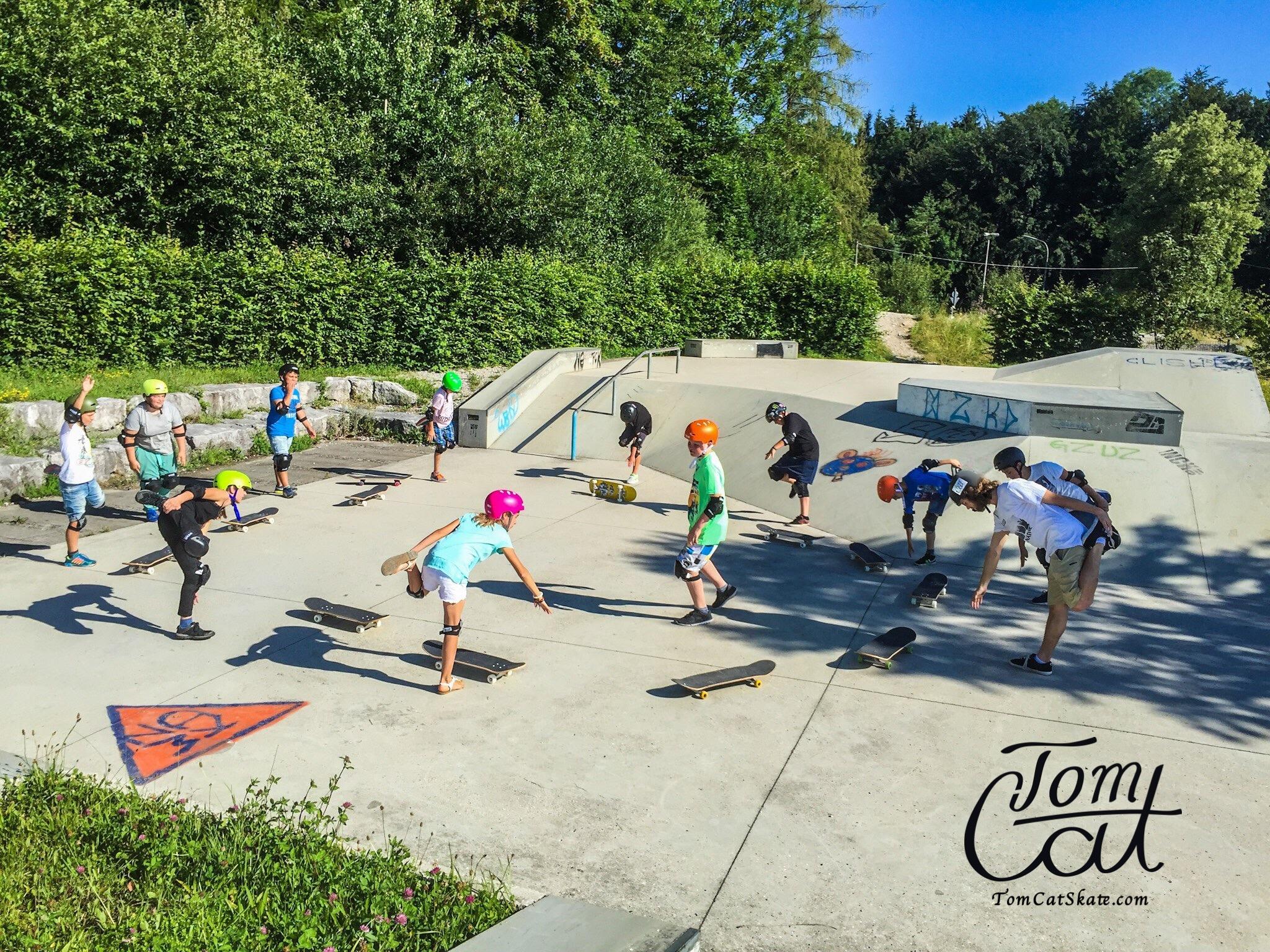Skatekurs Bad Tölz Skaten Lernen mit Profi Tom Cat auch Longboardkurse im raum München, Bad Tölz, Lenggries  3.JPG