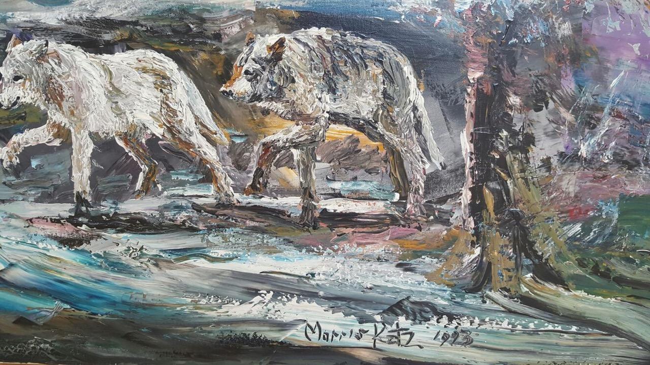 Morris Katz Painting gemälde 1.jpg