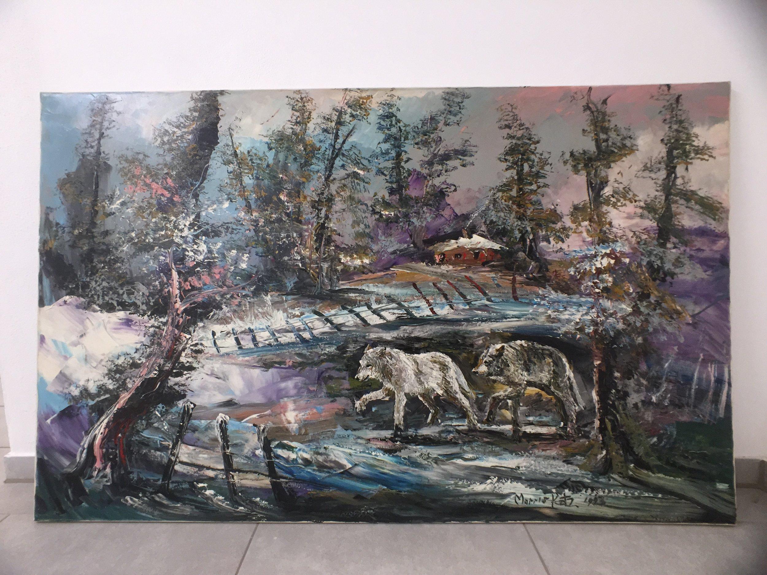 Morris Katz Painting gemälde 4.JPG