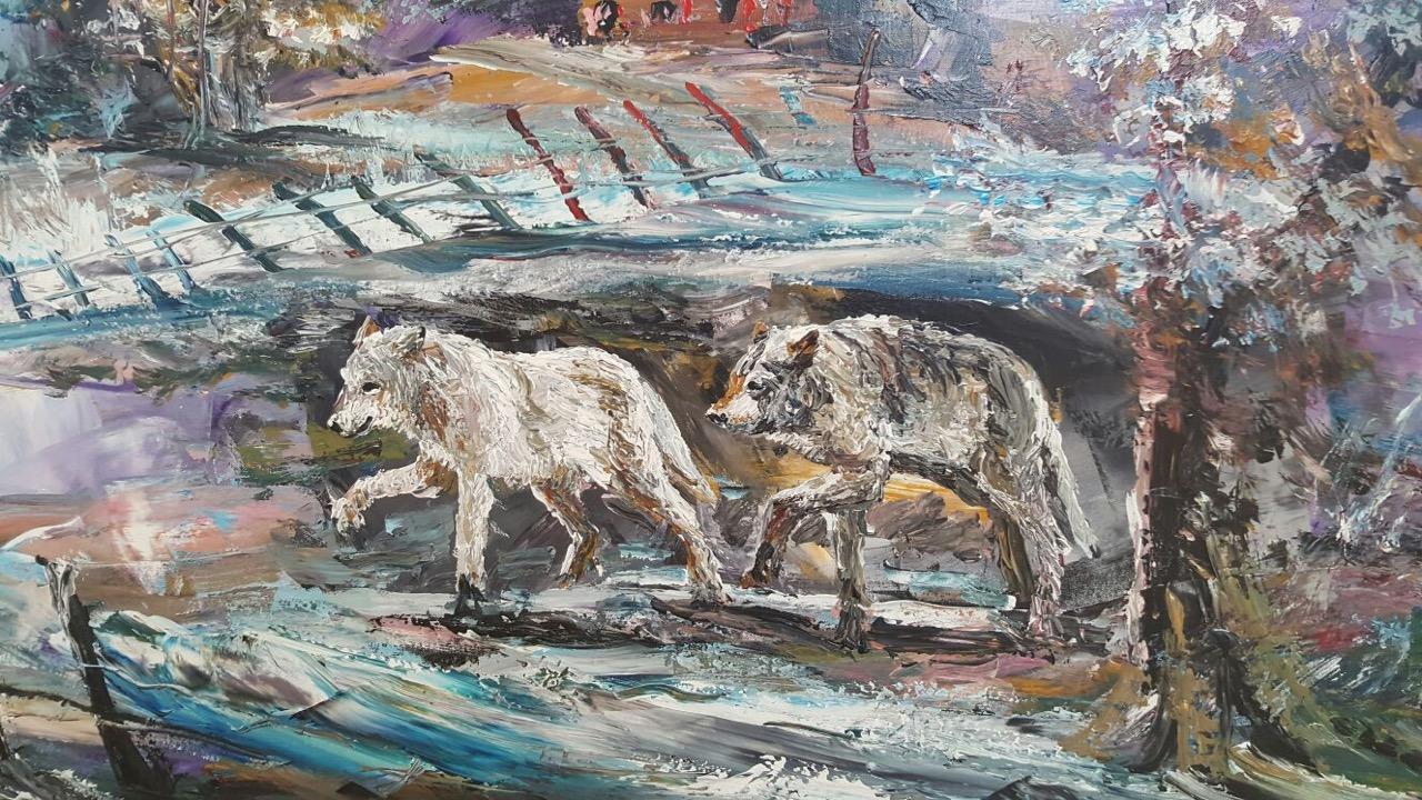 Morris Katz Painting gemälde 6.jpg