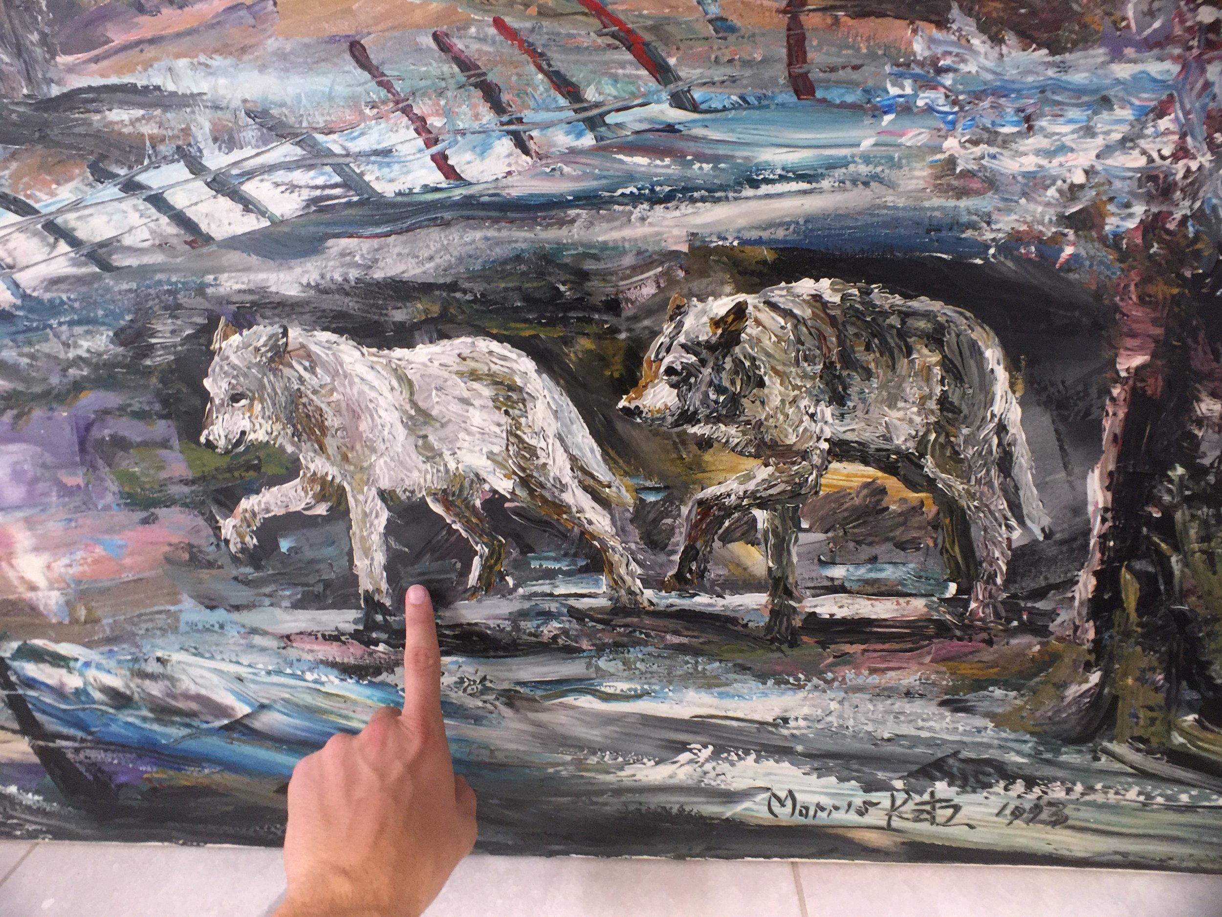 Morris Katz Painting gemälde 5.JPG