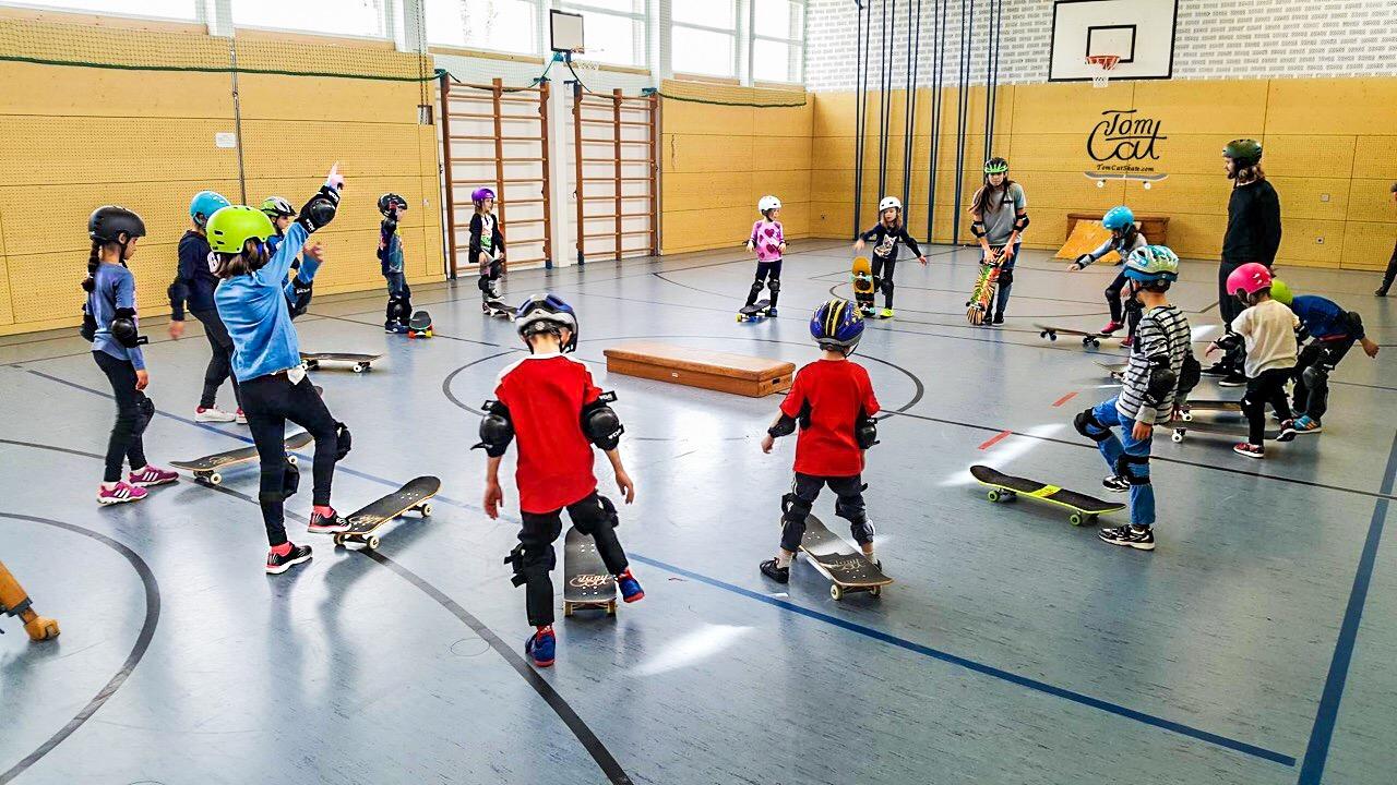 Skatekurs Landsberg Skatekurs München Skaten lernen Kuste Tom Cat 3.JPG