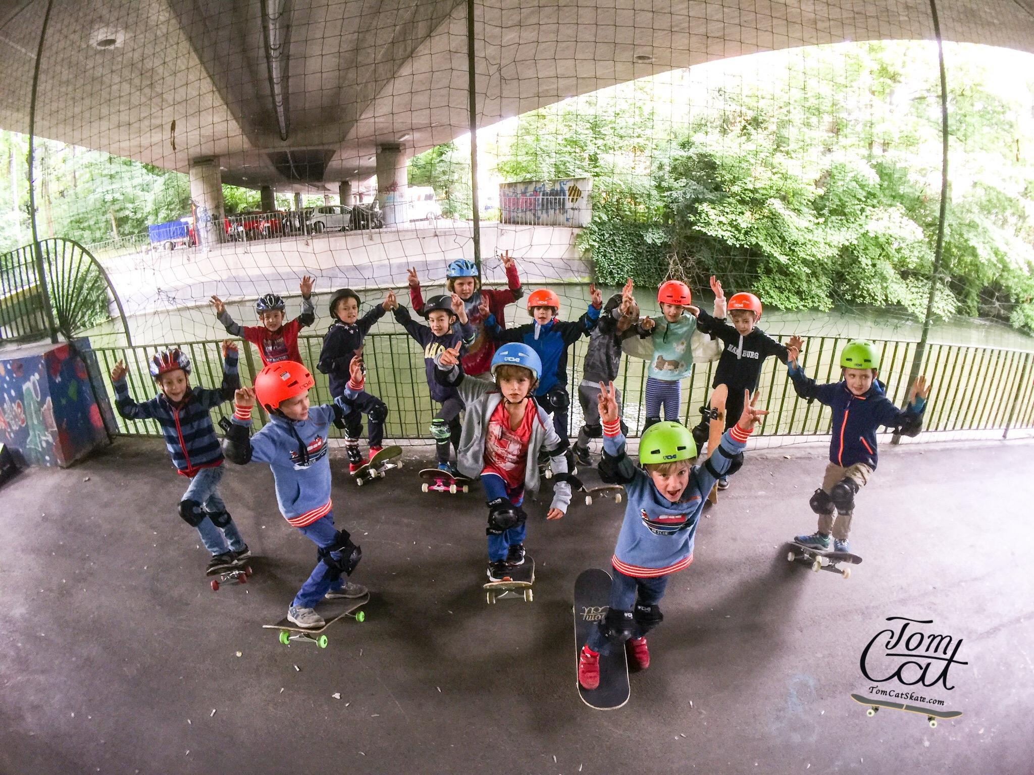 Skateboardkurs München Skatekurs München Longboardkurs für Anfänger und Fortgeschrittene Skateboard Geburtstag.JPG