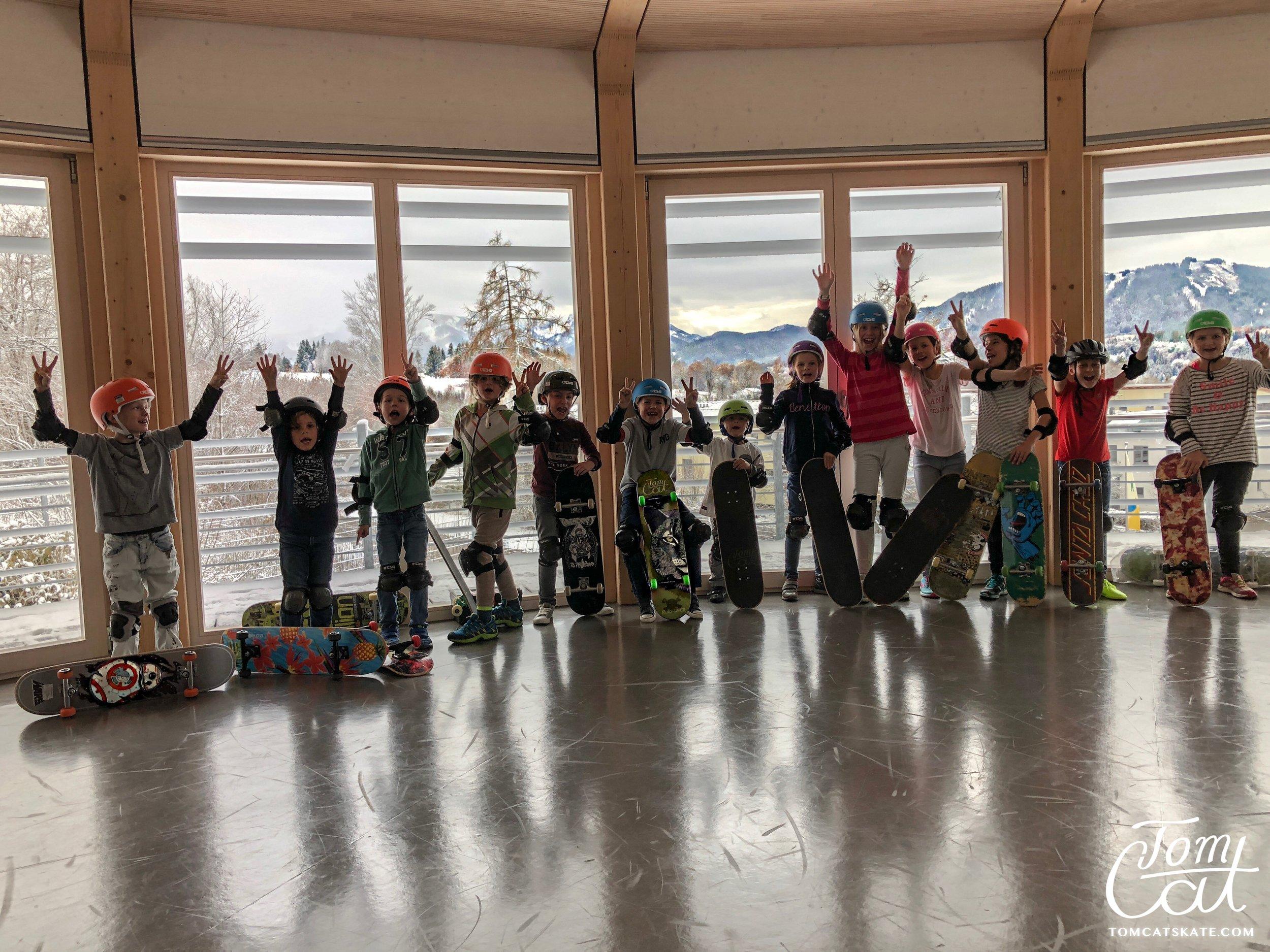 Geburtstagsfeier München Skateschule Tom Cat Skate Bad Tölz.JPG
