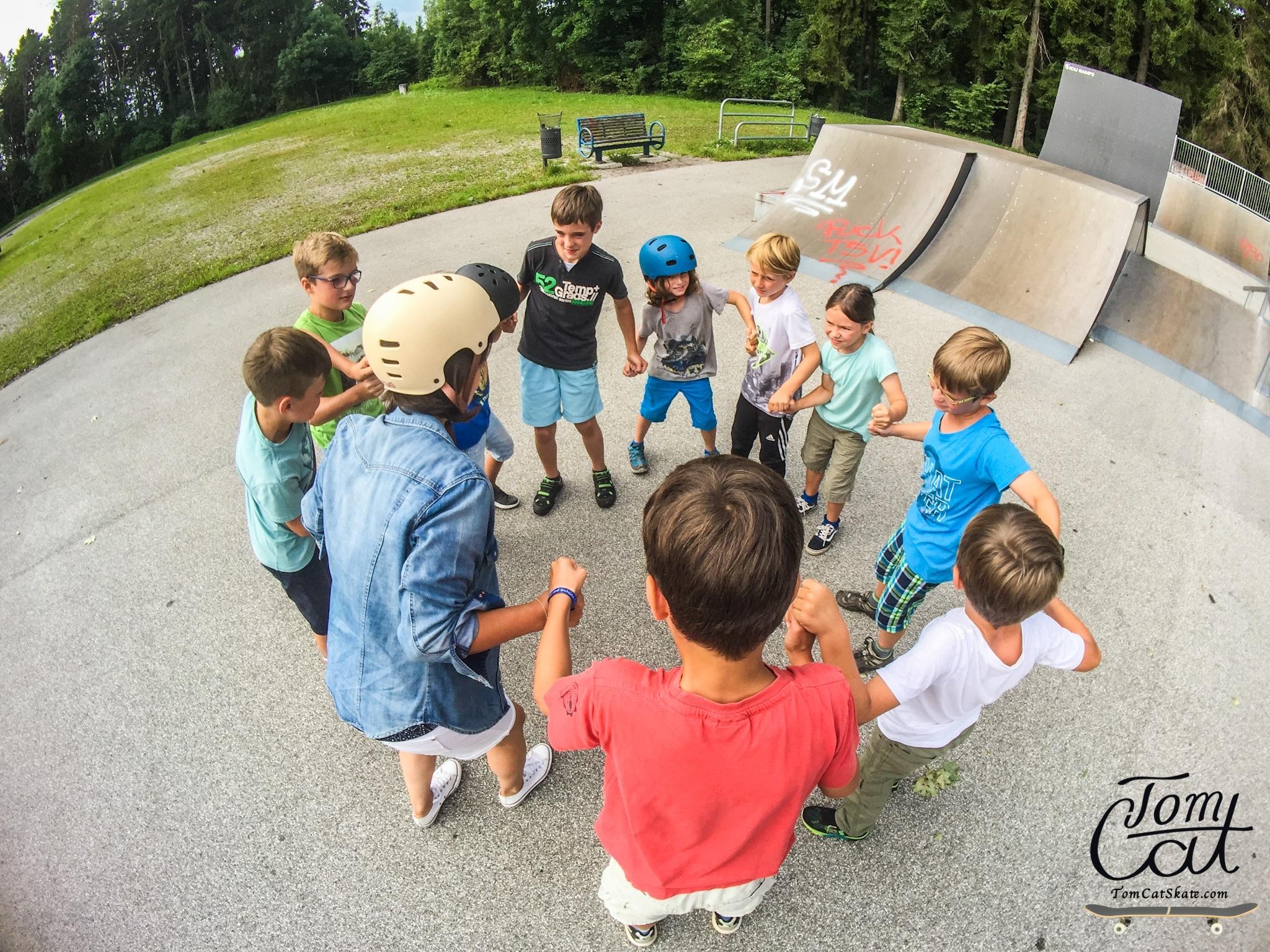 Skaten lernen Skateboard Kurs München Deutschland Skateschule Skateboardschool.JPG