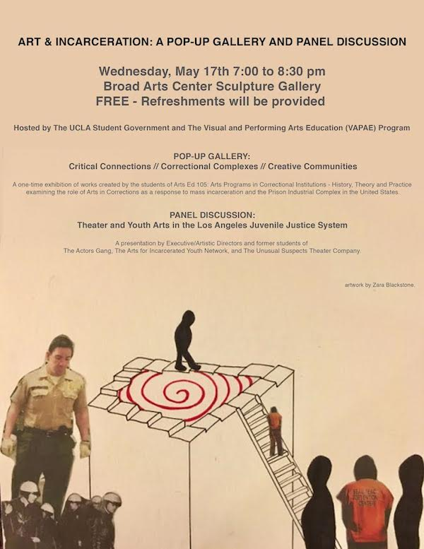 photo: art & incarceration pop-up gallery and panel discussion