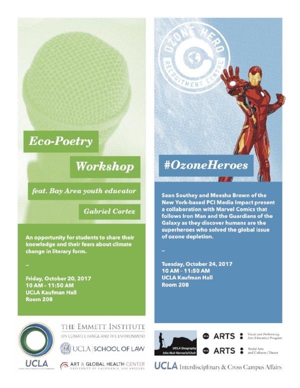 photo: eco-poetry workshop flyer